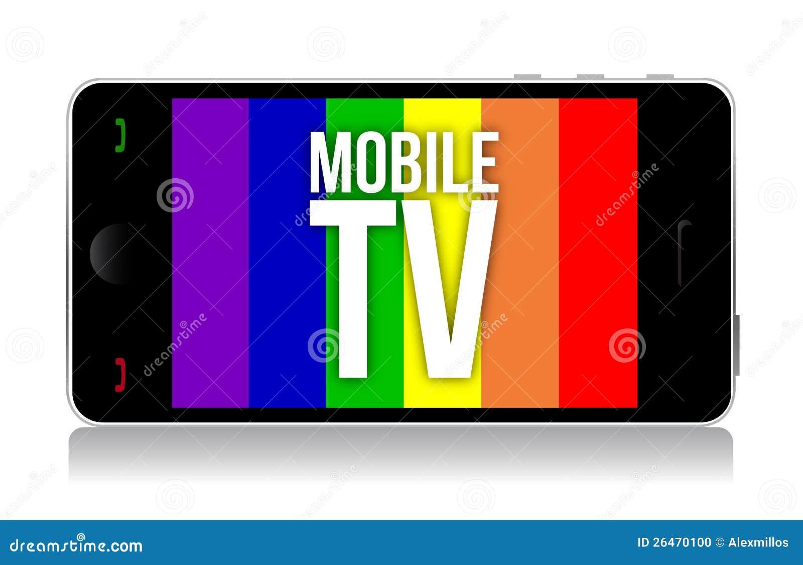 Mobile tv illustration design stock photo image 26470100 for Mobile tv dwg
