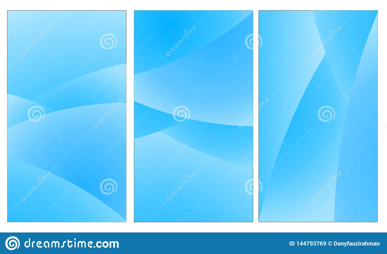 Mobile Wallpaper Abstract Background Geometric Blue Color