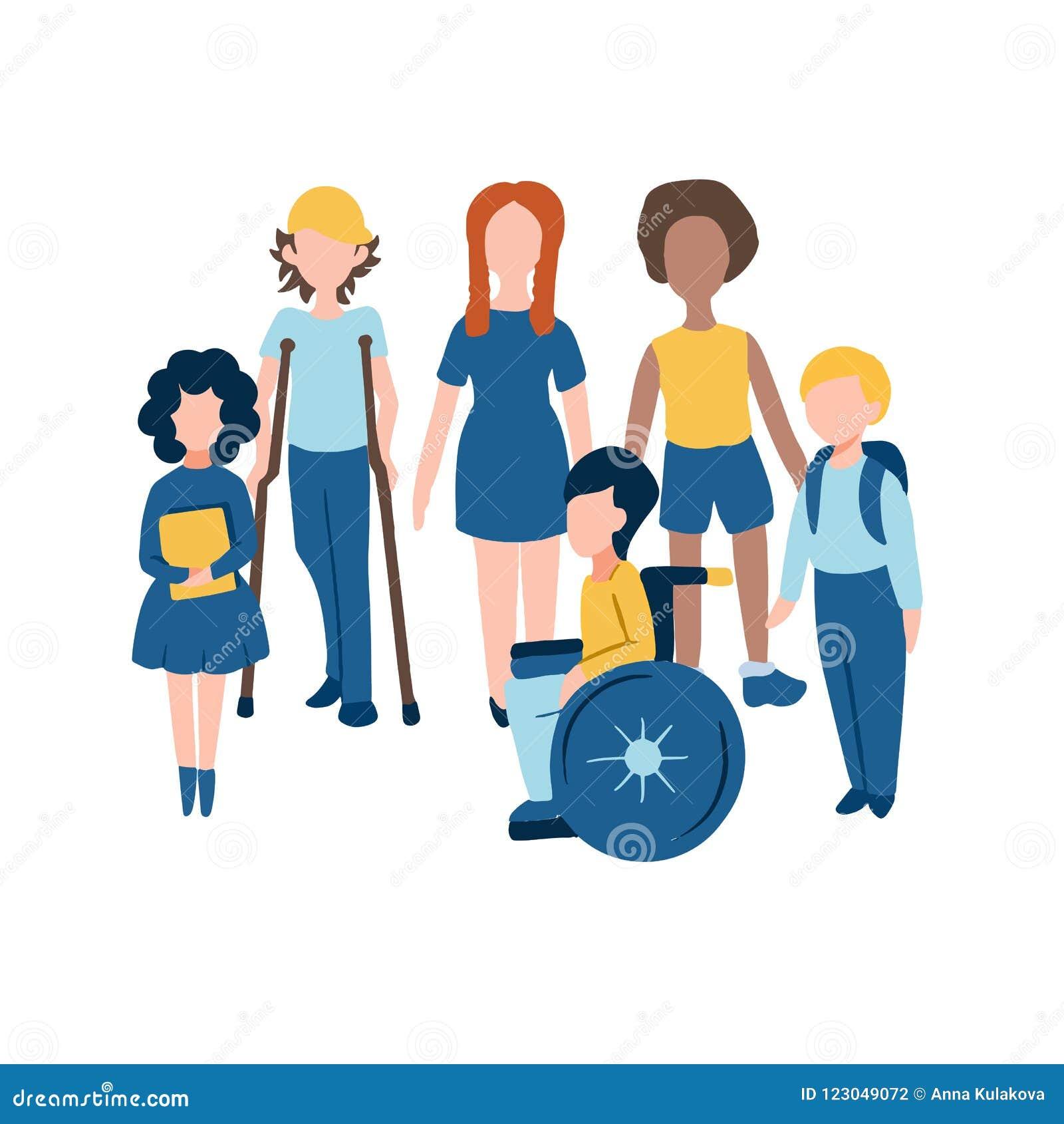 De Mobileset Niños Planos Incluyendo Los Iconos xtrdhQsC