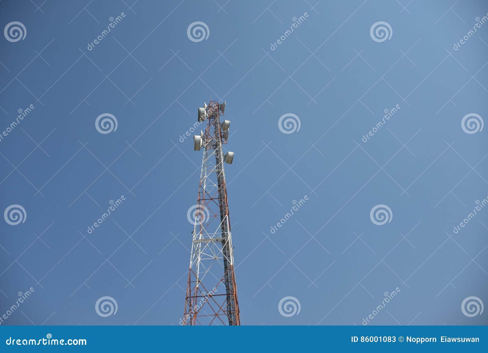 Mobilfunkanlage für Telekommunikation