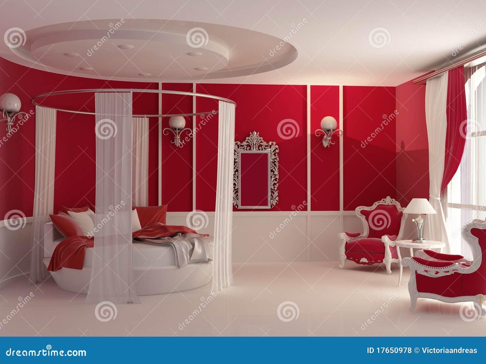 Mobilia in camera da letto di lusso fotografie stock for Poltrone da camera da letto