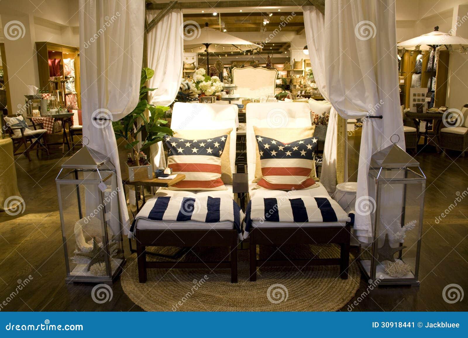 Mobilia e deposito domestico della decorazione