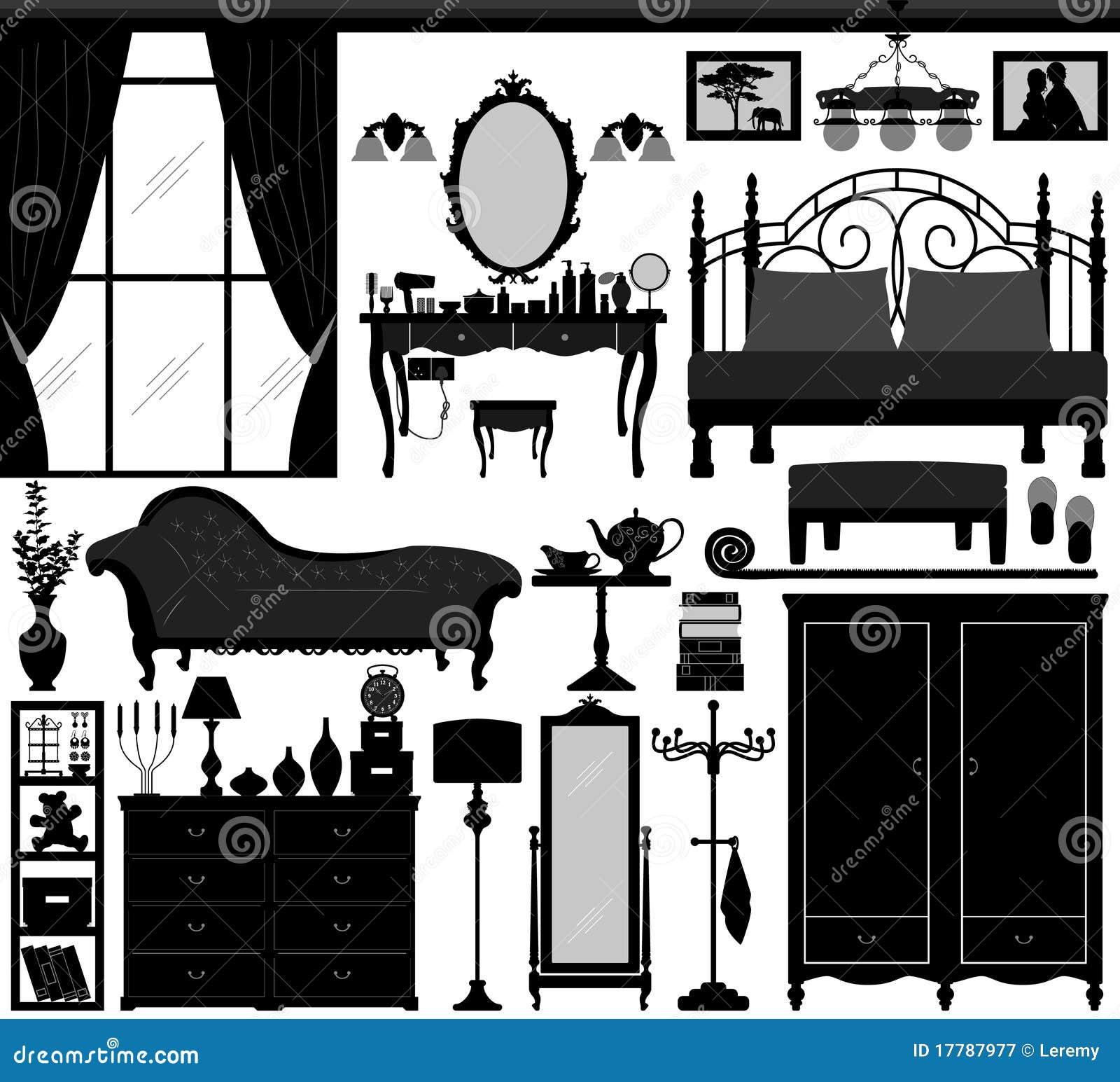 Mobilia stabilita di disegno interno della camera da letto for Mobilia download