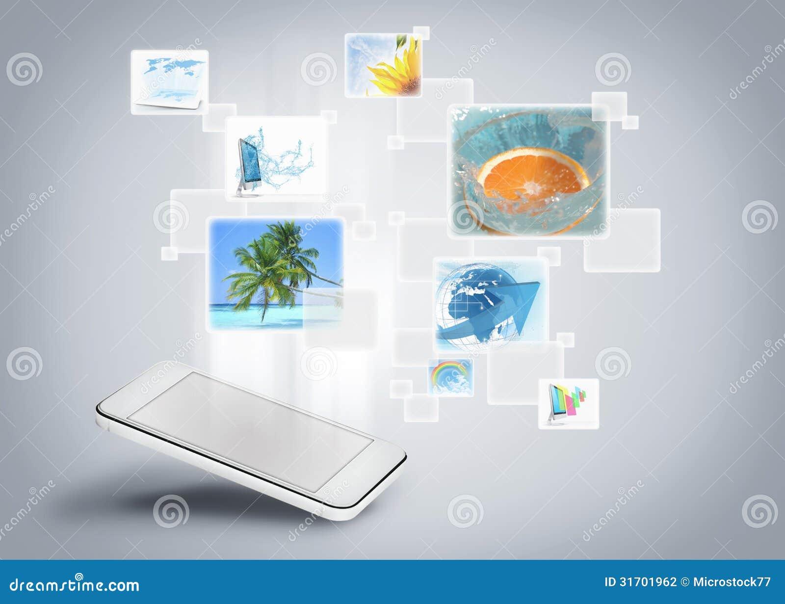 Mobilt bildgalleri för telefon