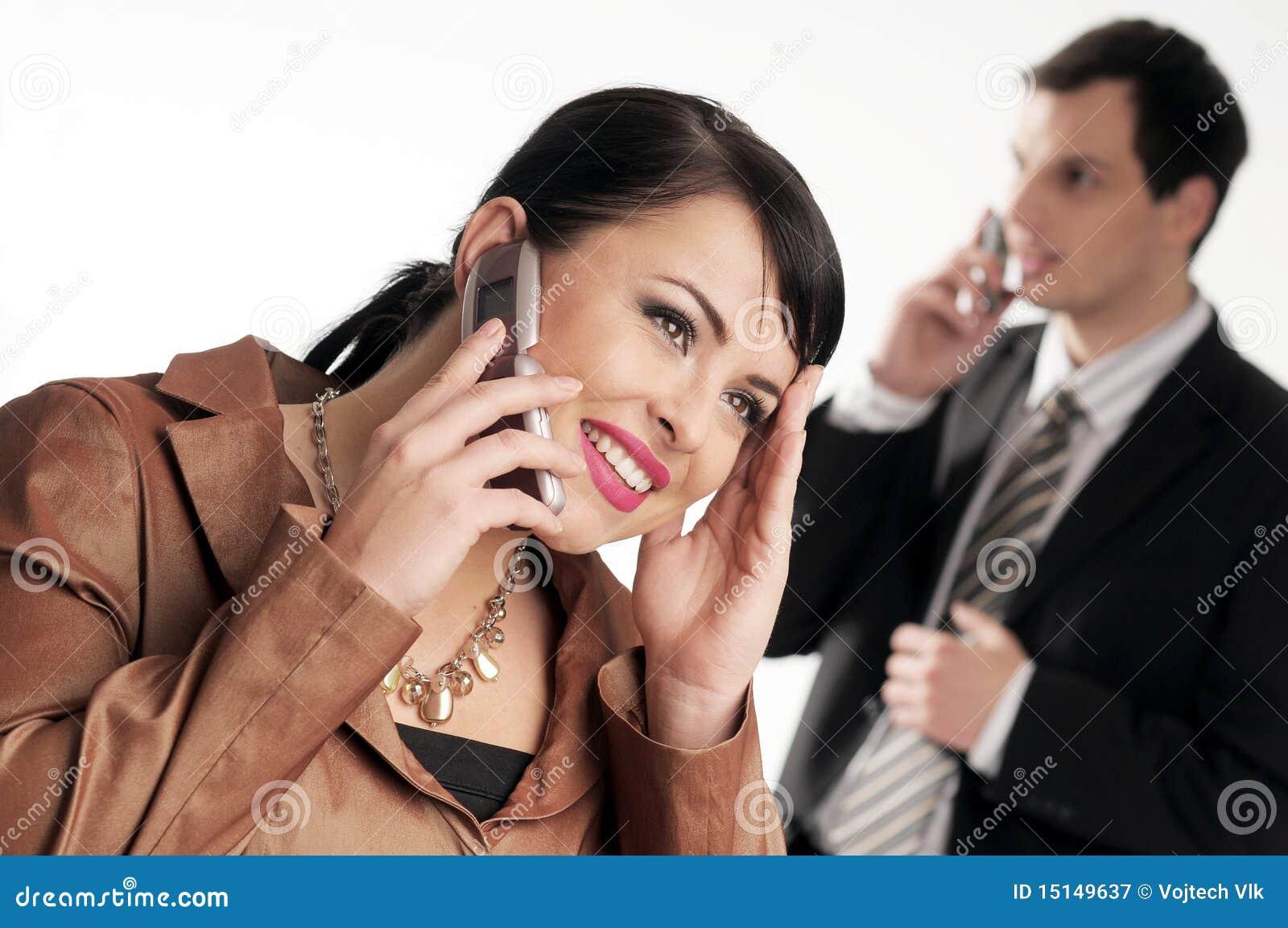 Mobilt telefonbarn för chefer