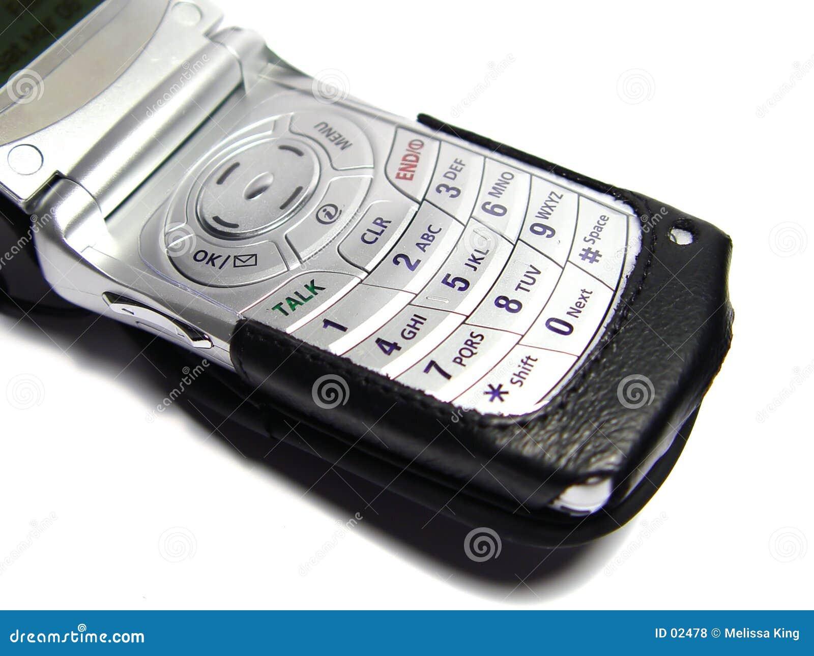 Mobiltelefon mit Fall