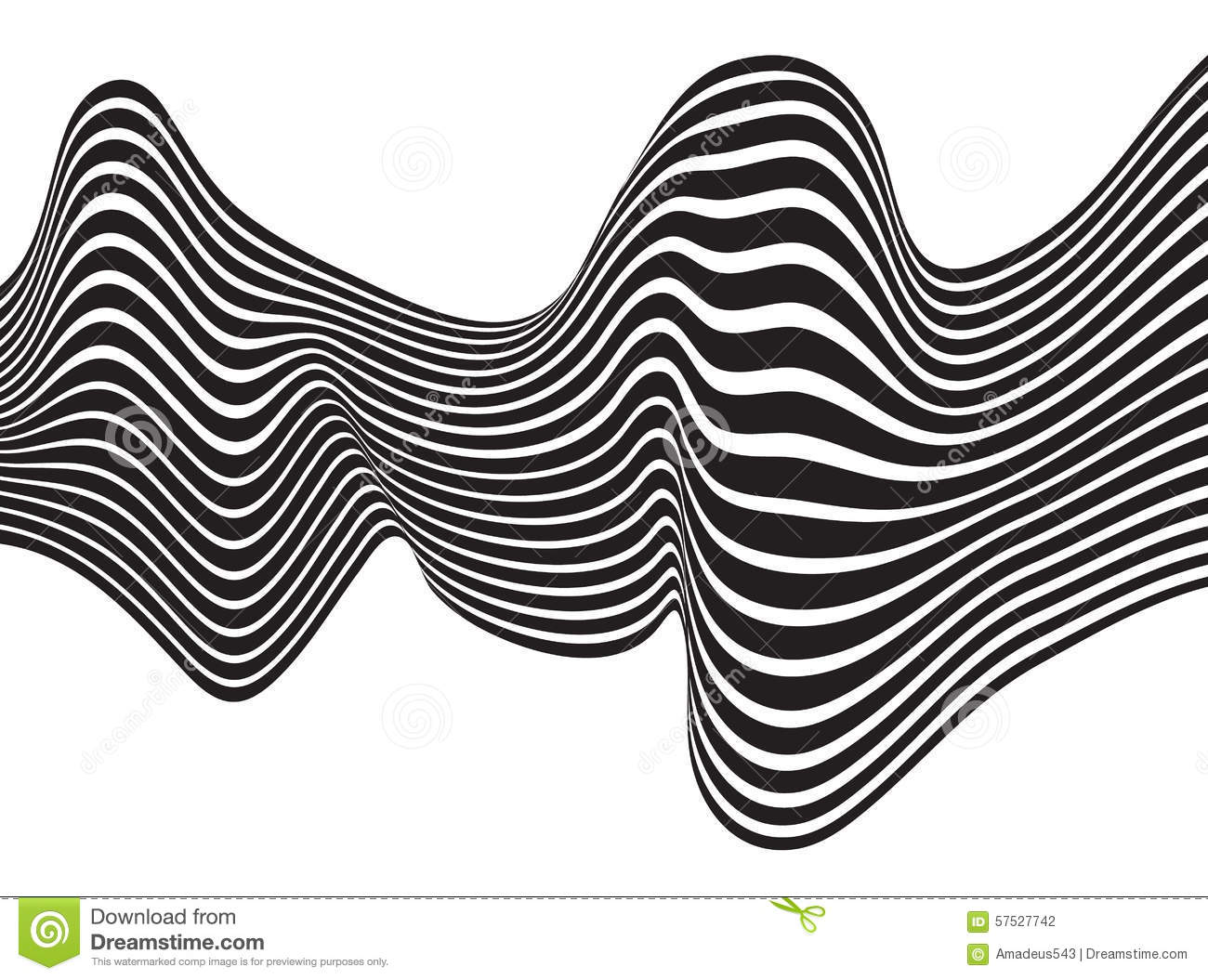 Wave Vector Black And White