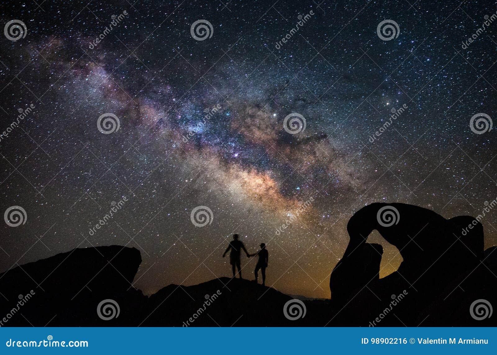 Mobius Arch in Alabama Hills under the Milky Way