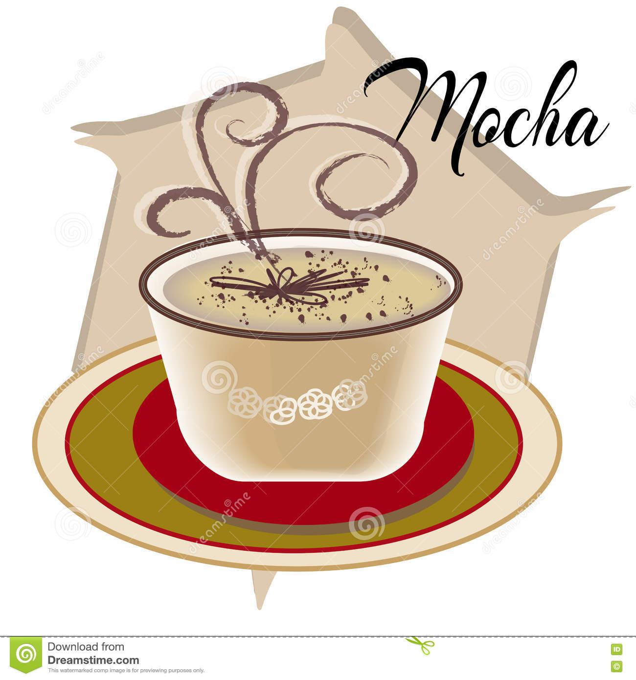 Mocha Coffee Ingredients