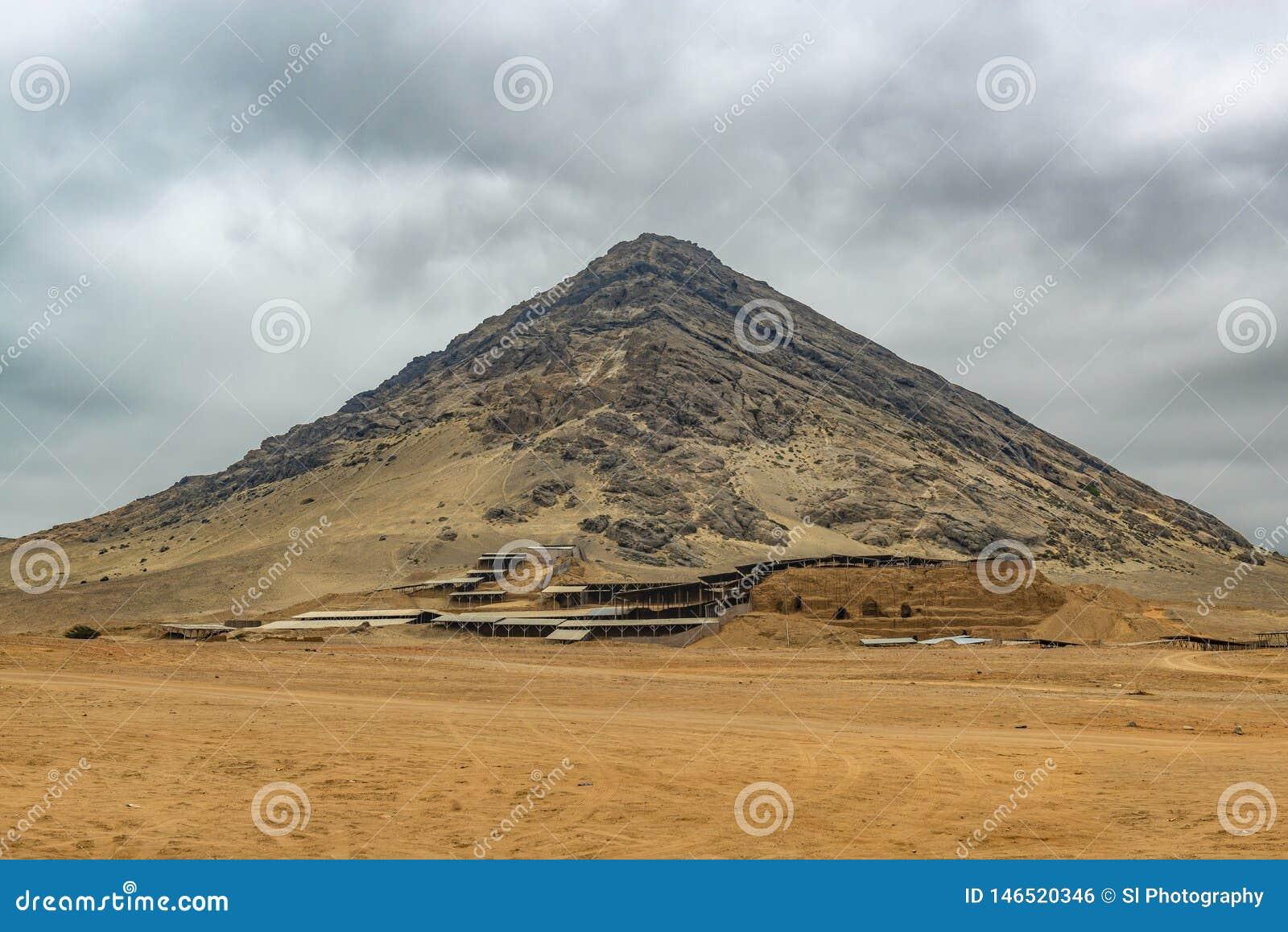 Moon Pyramid of the Moche Civilization, Peru