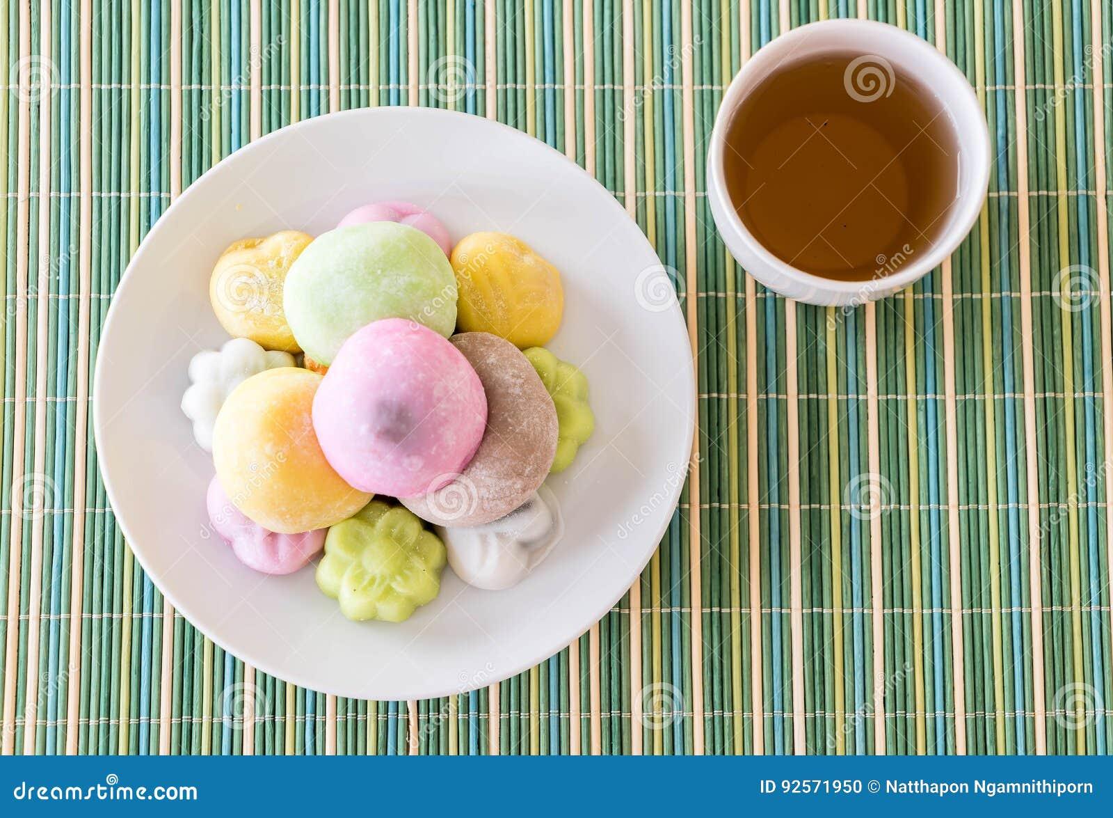 Mochi variopinto del dessert