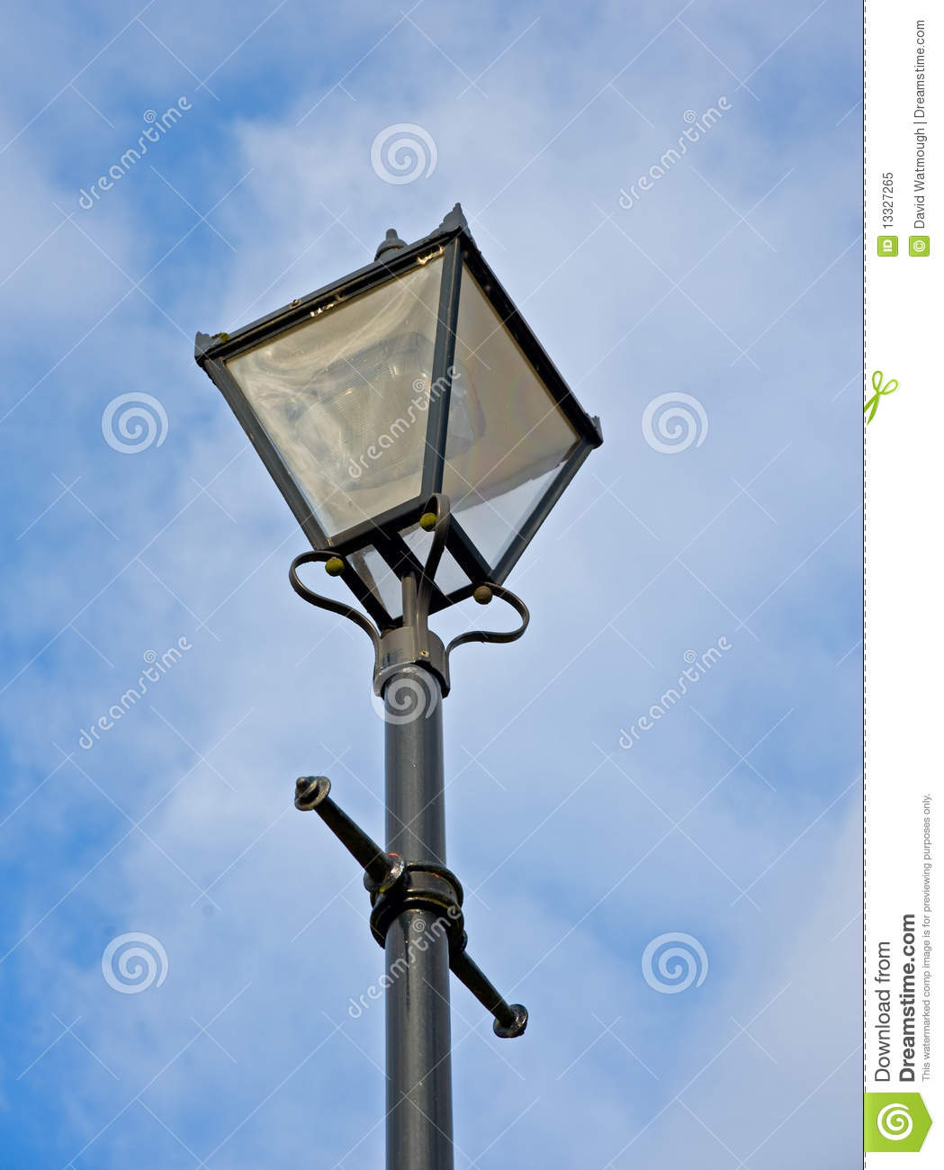 Royalty-Free Stock Photo. Download A Mock Antique Street L&. & A Mock Antique Street Lamp. Stock Image - Image: 13327265 azcodes.com