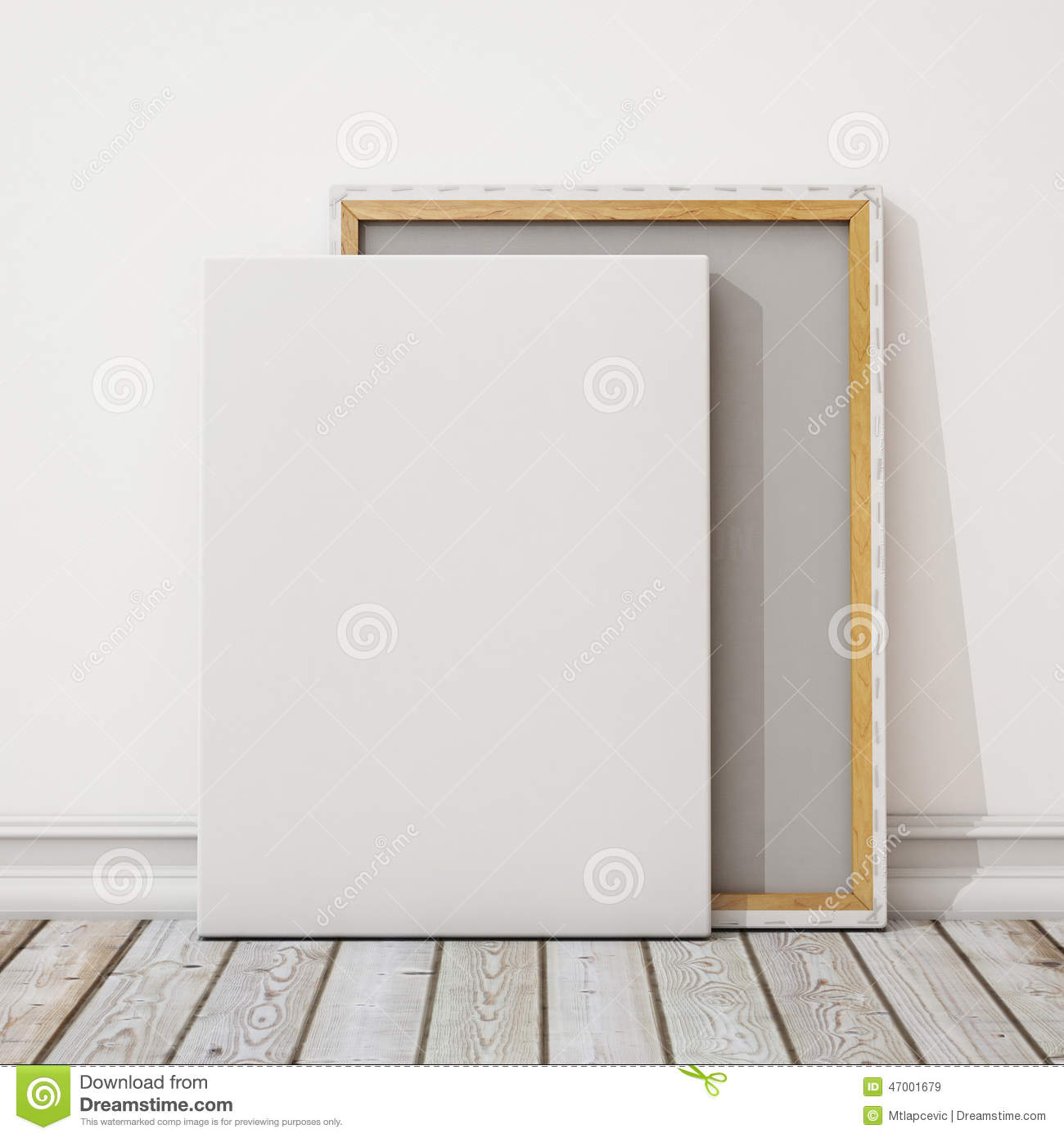 Canvas Hd Painting Vector Blank