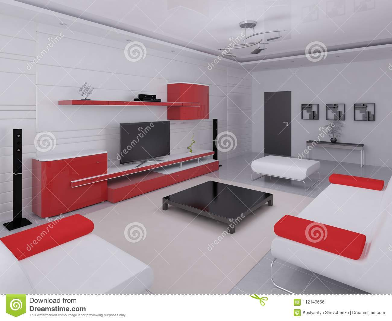 tech furniture. Mock Up A Fashionable Living Room With Hi-tech Furniture. Tech Furniture D