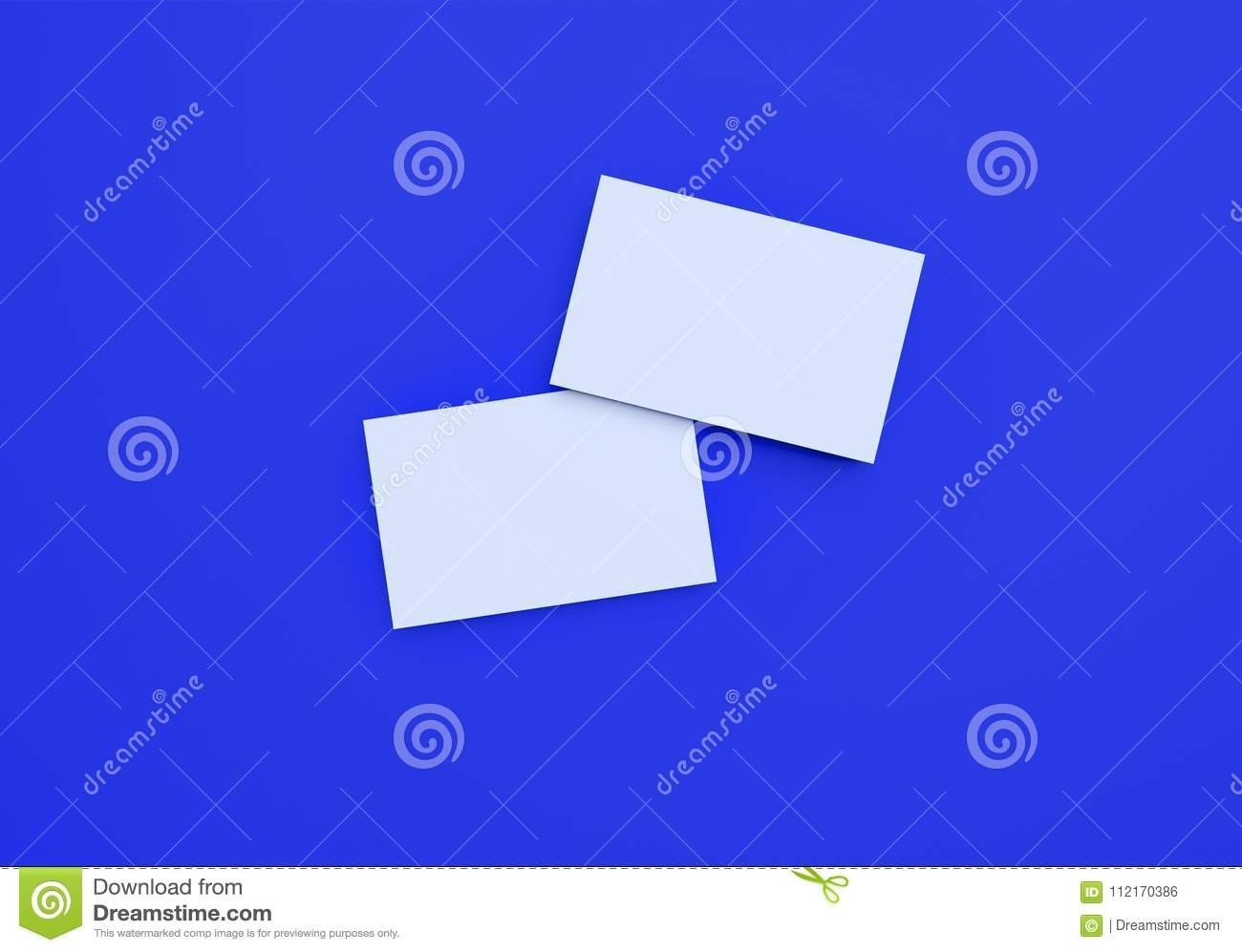 Mockup business cards on blue background stock illustration download mockup business cards on blue background stock illustration illustration of concept card colourmoves