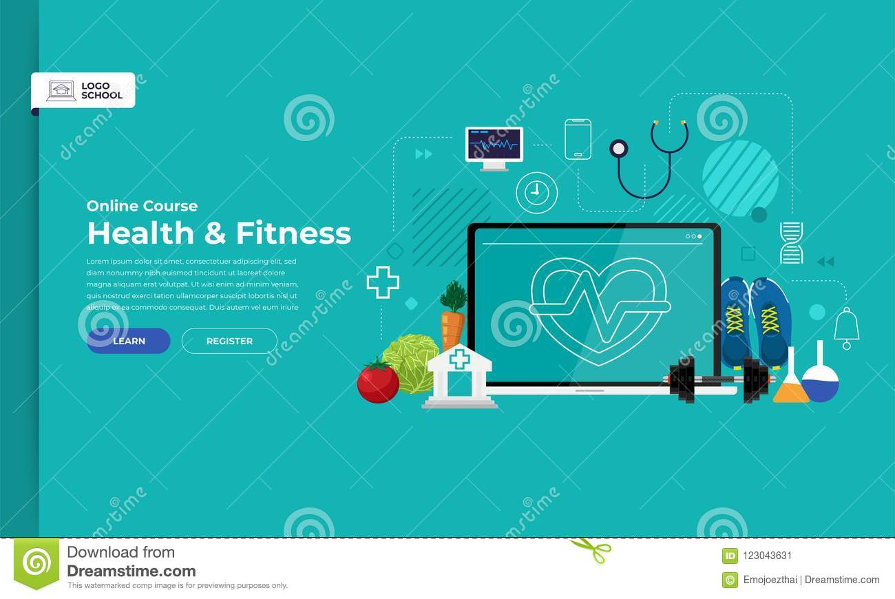 Online course education stock vector  Illustration of mobile - 123043631