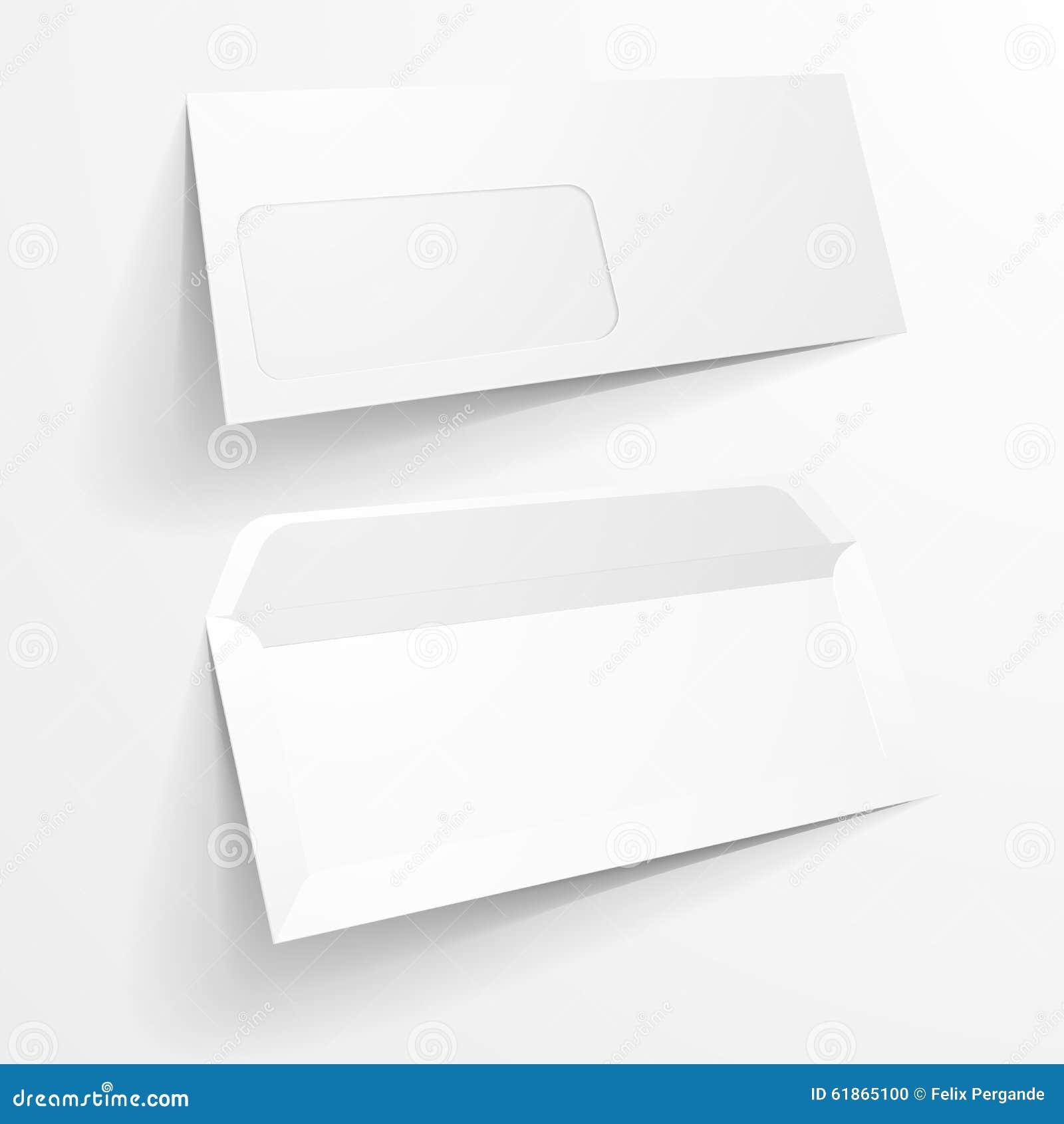 mockup envelope stock illustration illustration of clean 61865100