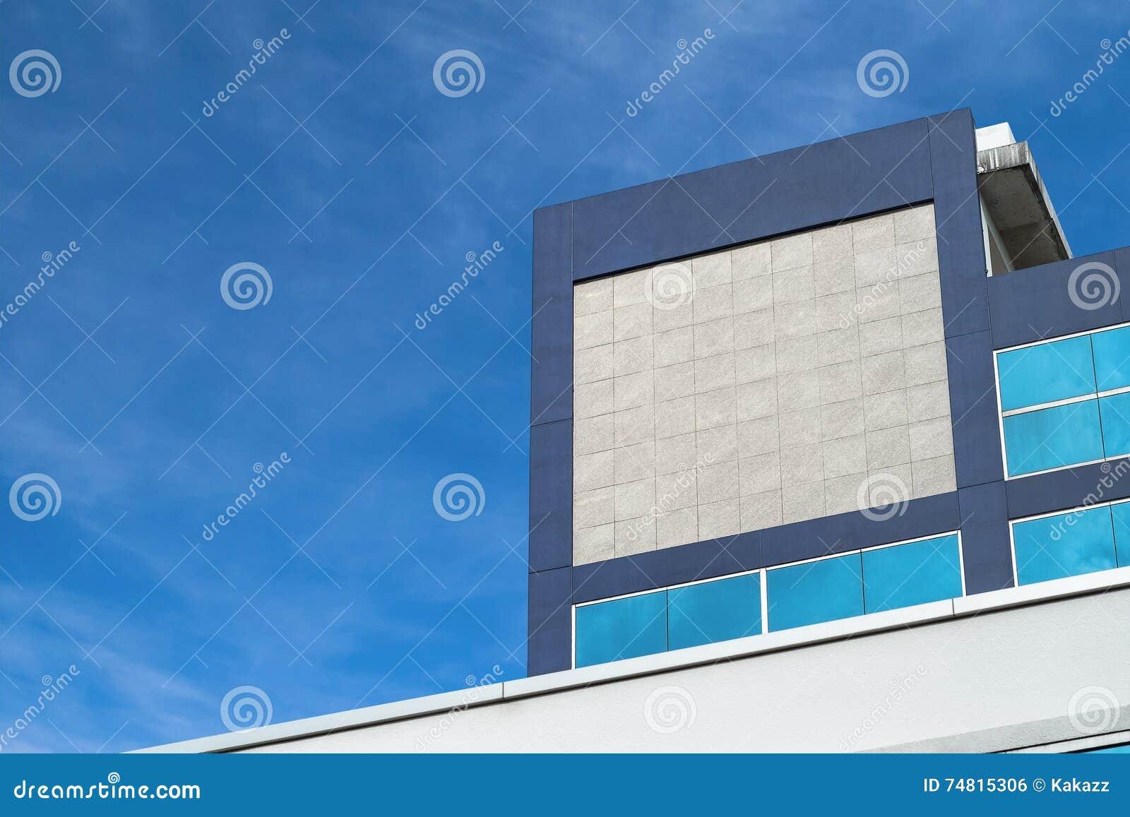 Mockup Firma signage na budynku w mieście lub logo
