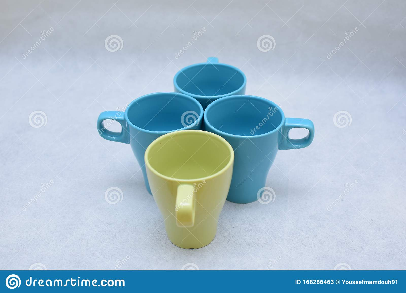 Mockup Set Of Colorful Tea Or Coffee Ceramic Mug Template For Branding Identity And Company Logo Design Drink Ware Dining Stock Image Image Of Isolated Cocktail 168286463