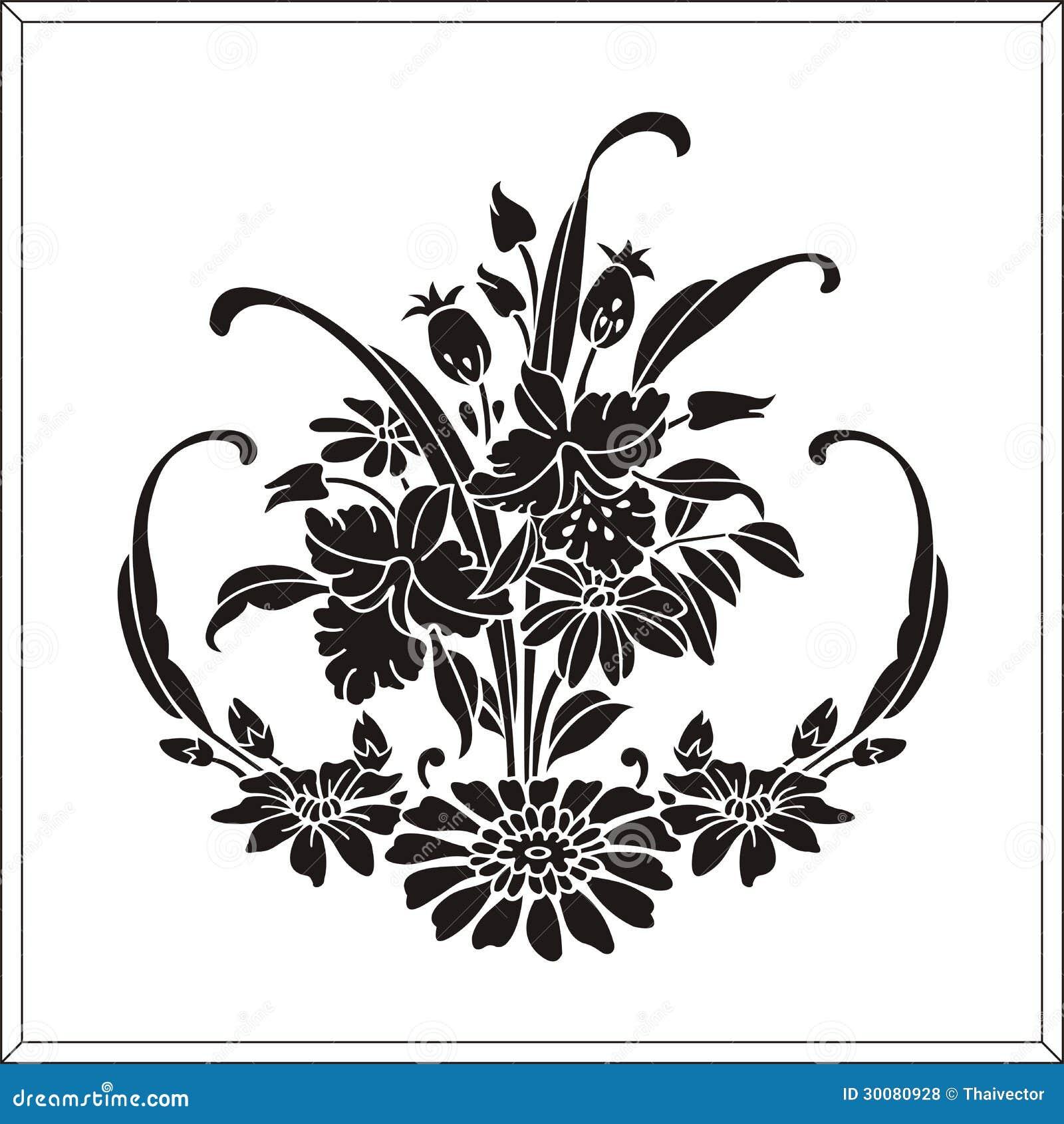 Populaire Modèle Gravure à L'eau-forte Illustration de Vecteur - Image: 30199523 IJ08