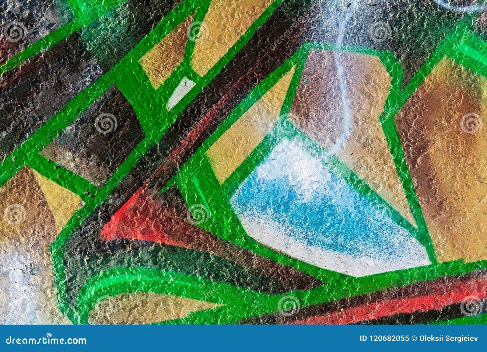Modèle abstrait géométrique de peinture