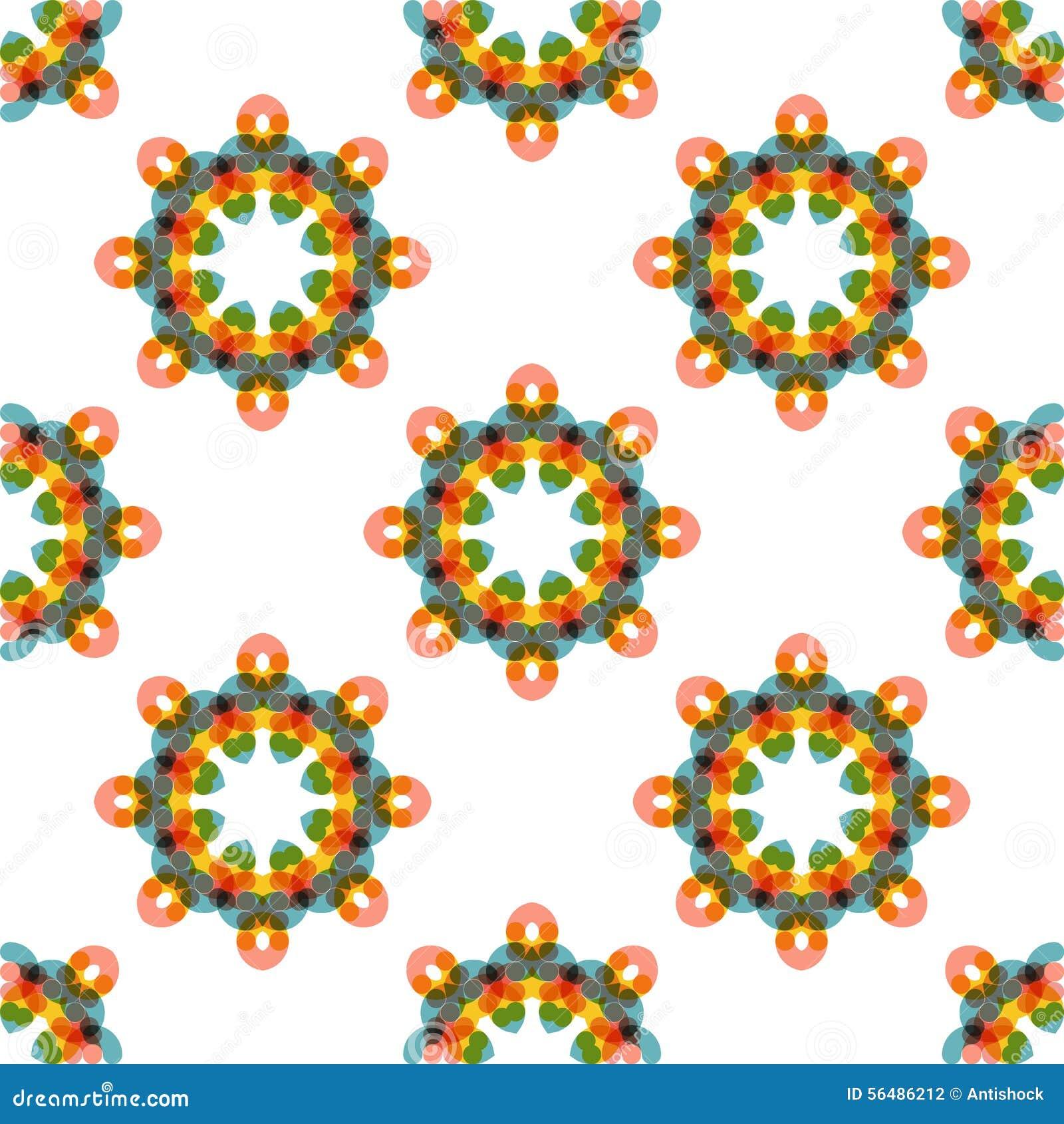 Modèle abstrait géométrique de vecteur sans couture