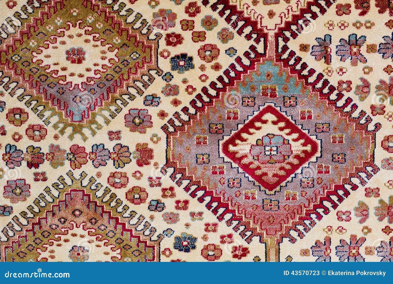 Modèle arabe de desoration de tapis