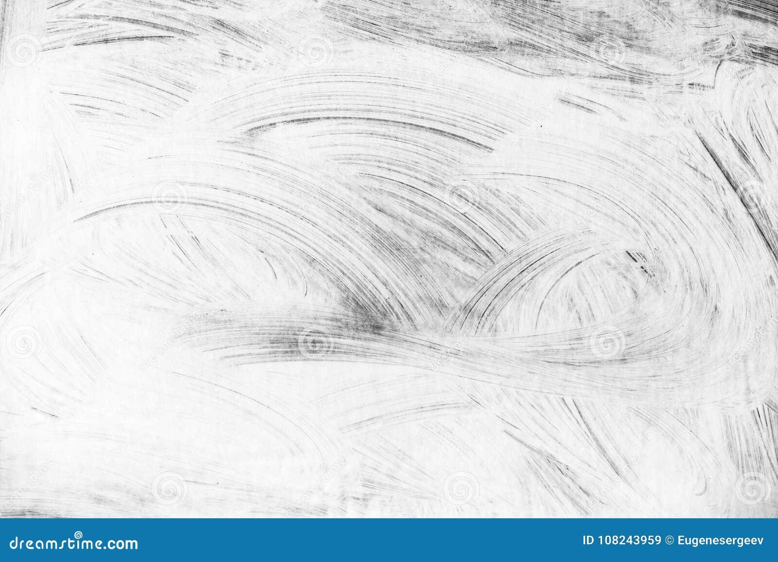 Modèle Blanc Abstrait De Peinture Au Dessus De Mur Gris