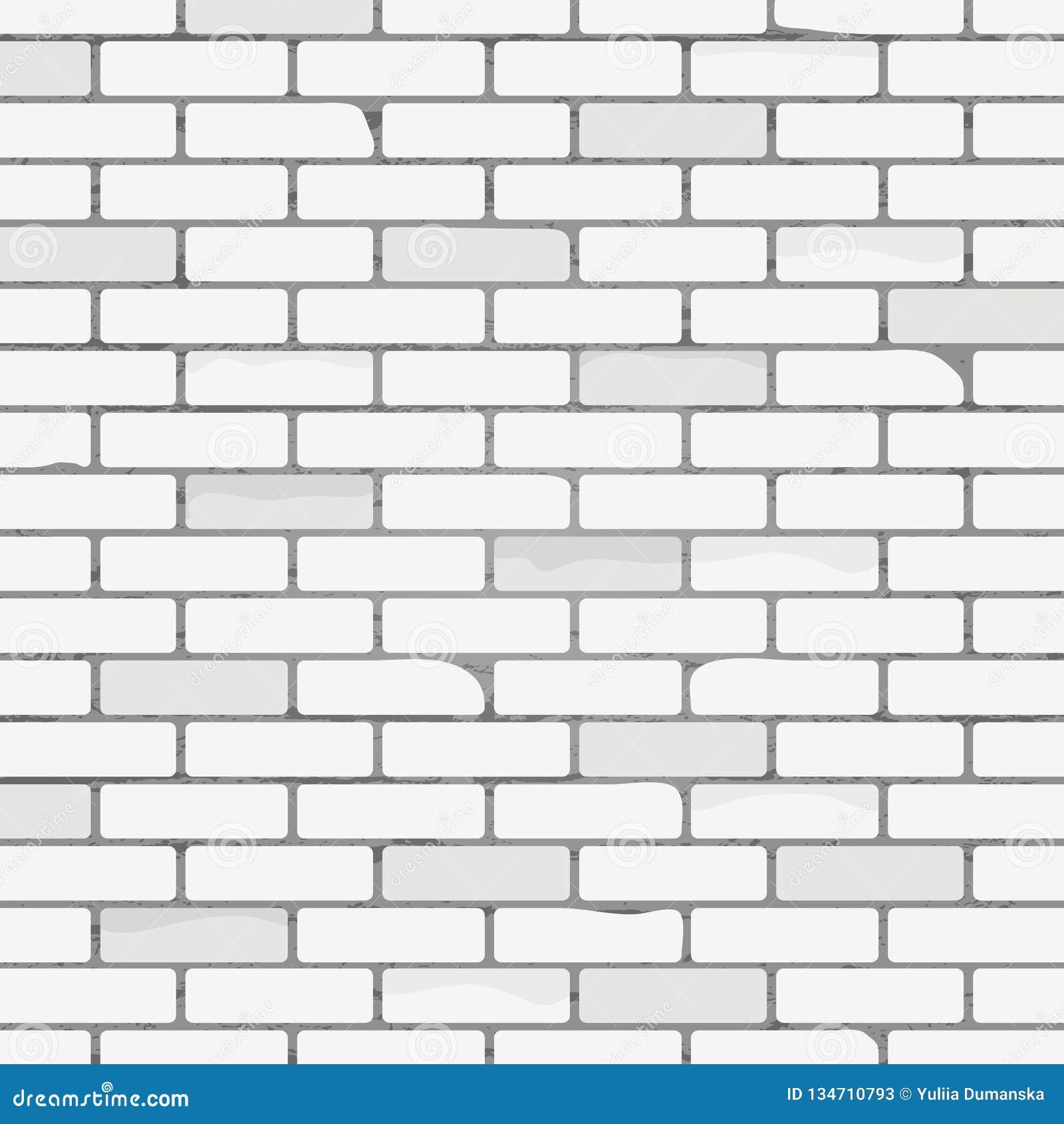 Mur Effet Brique Blanche modèle blanc de texture de mur de briques fond abstrait avec