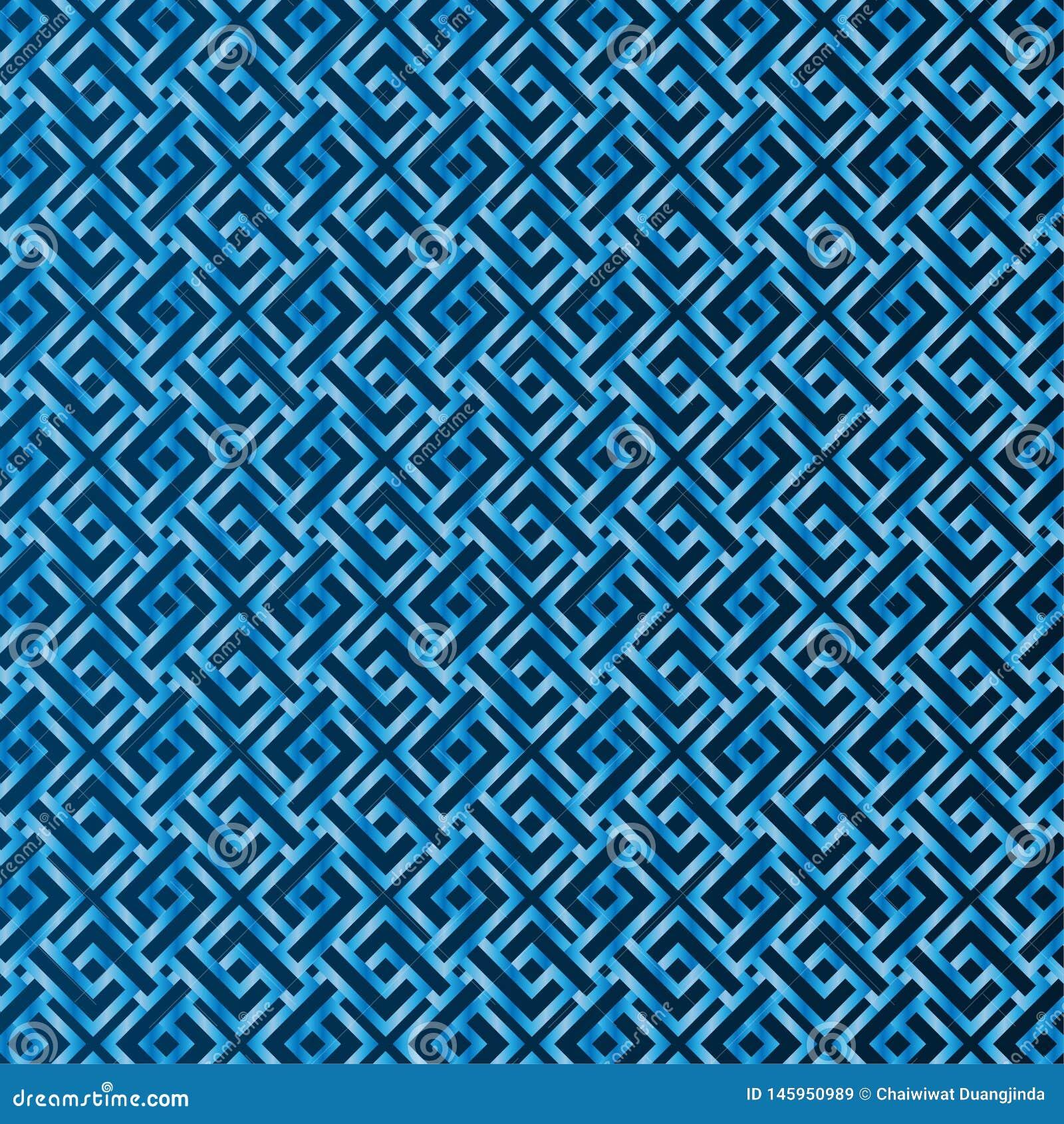 Modèle bleu sans couture le fond