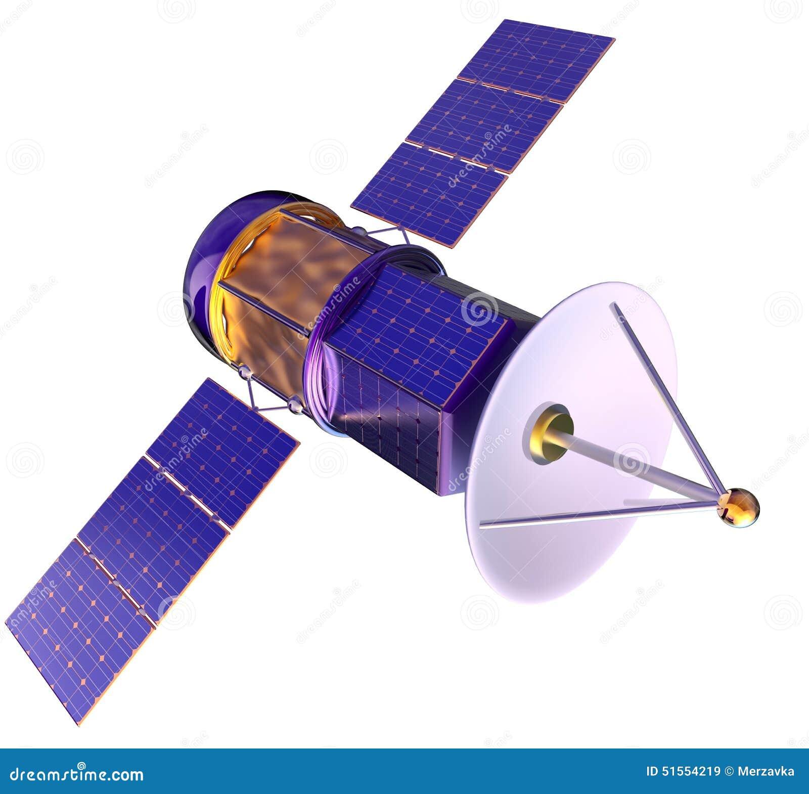 Mod le 3d d 39 un satellite artificiel de la terre for Un model de