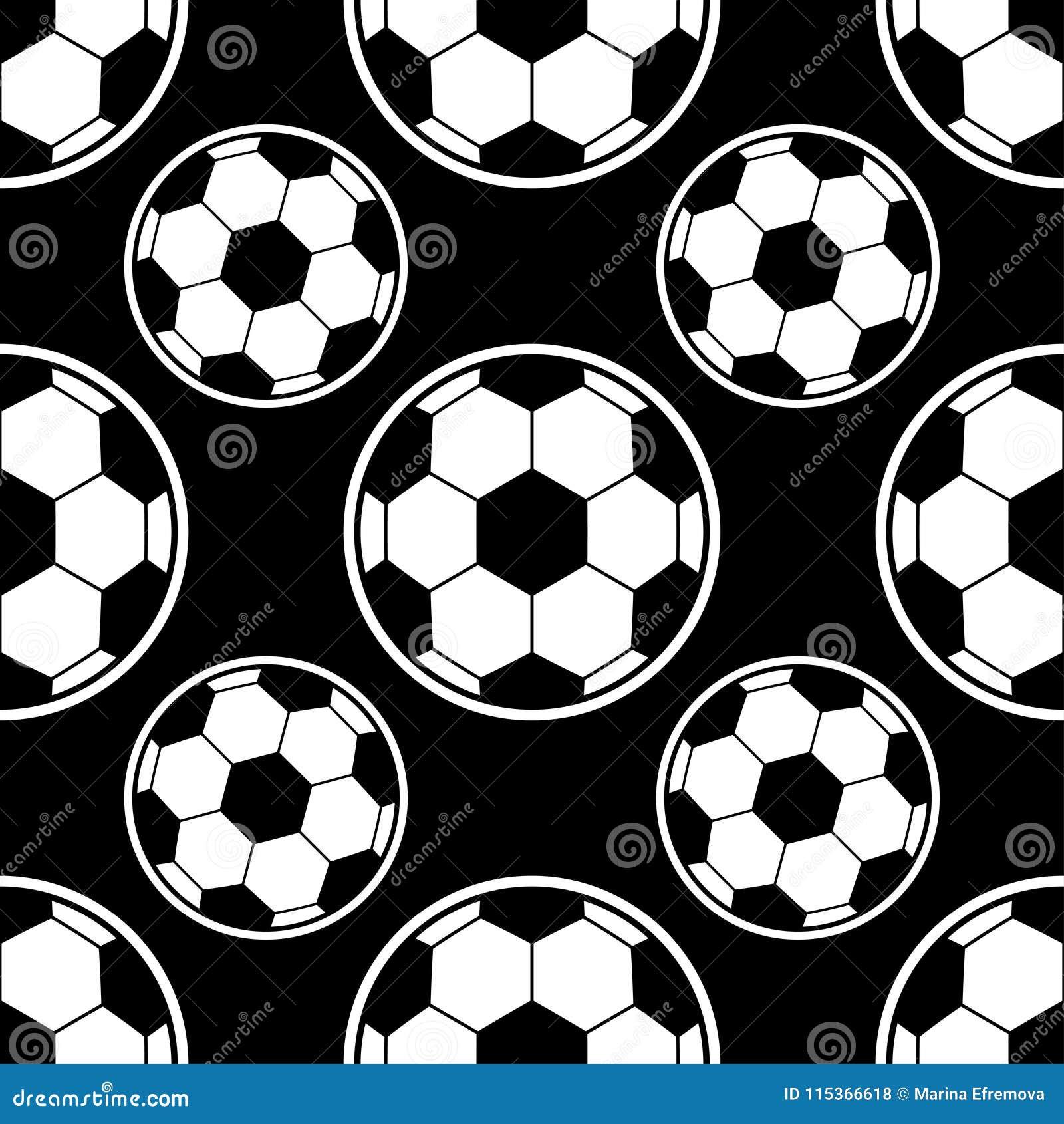 Modèle de ballon de football Peut être employé pour le textile, fond de site Web, couverture de livre, l empaquetage