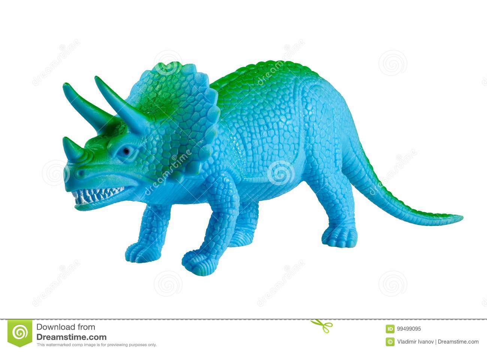 Modèle de jouet d un dinosaure