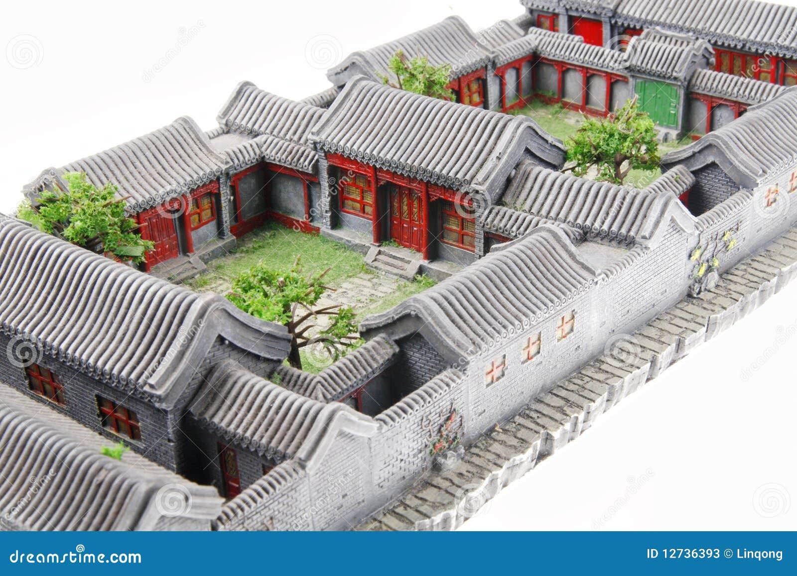 Modle De La Cour Chine Photos Stock Image 12736393