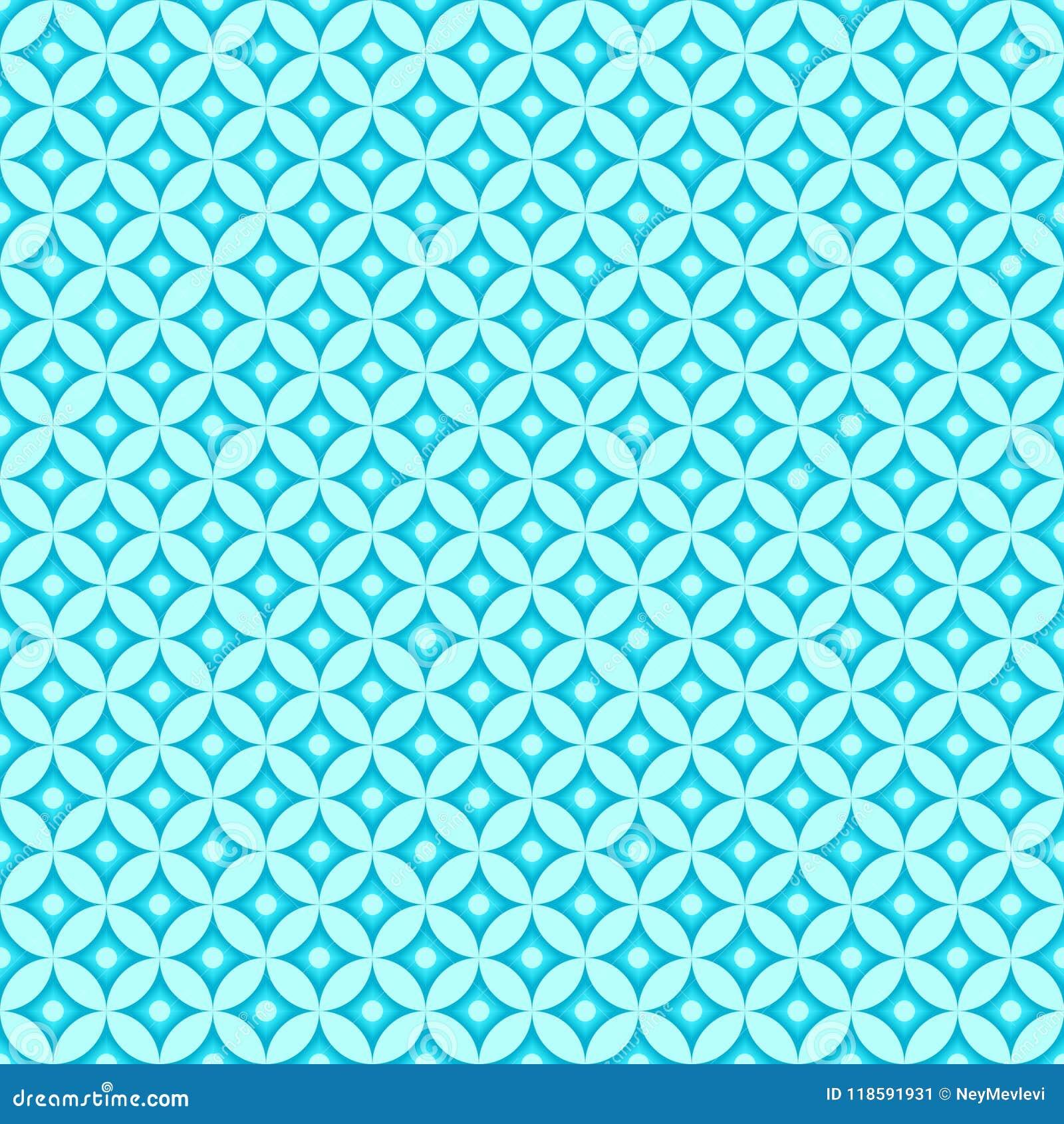 Modèle de motif bleu de mer
