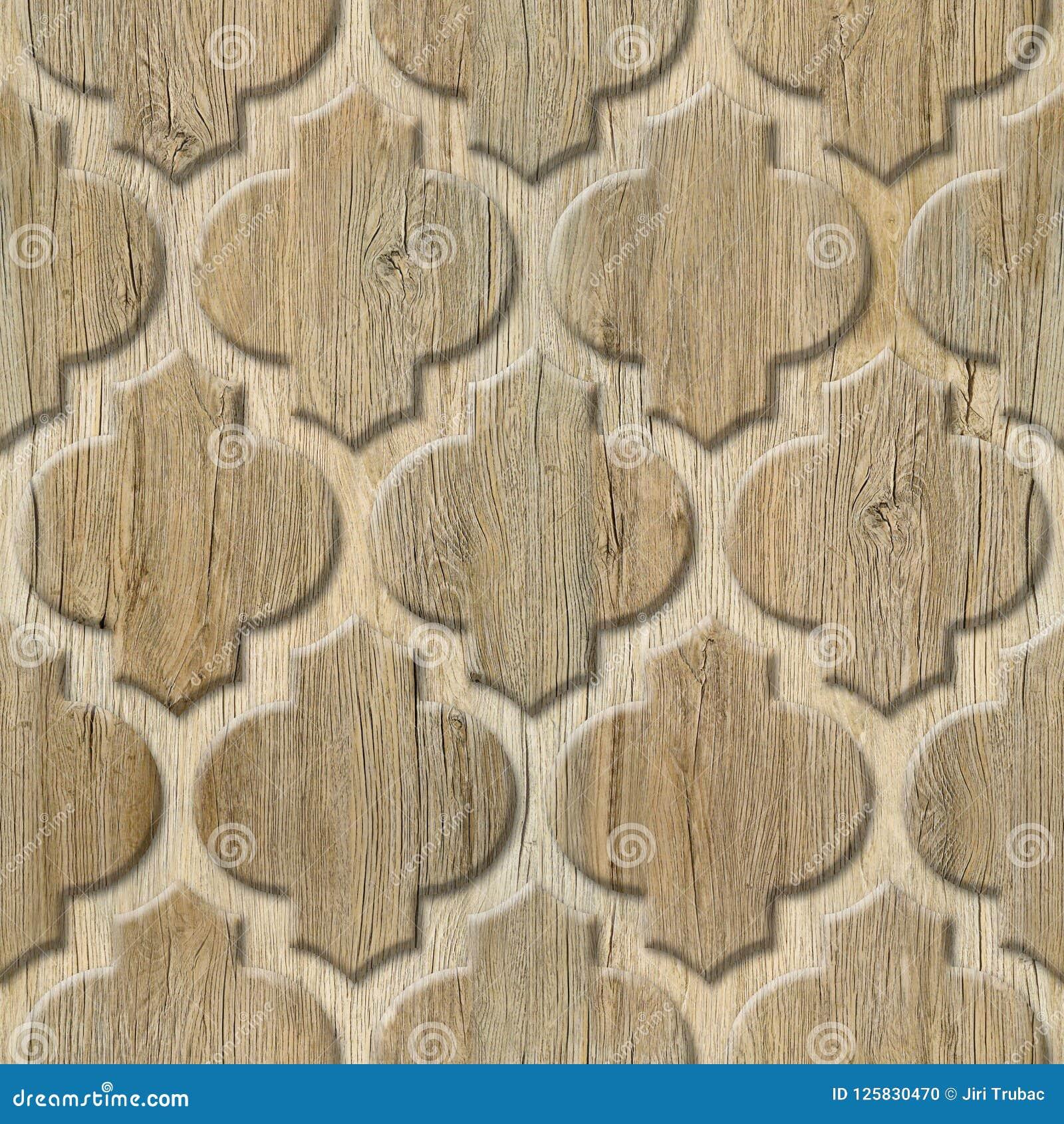 Modèle de panneau de mur intérieur - matériel abstrait de décoration - décor arabe - modèles géométriques