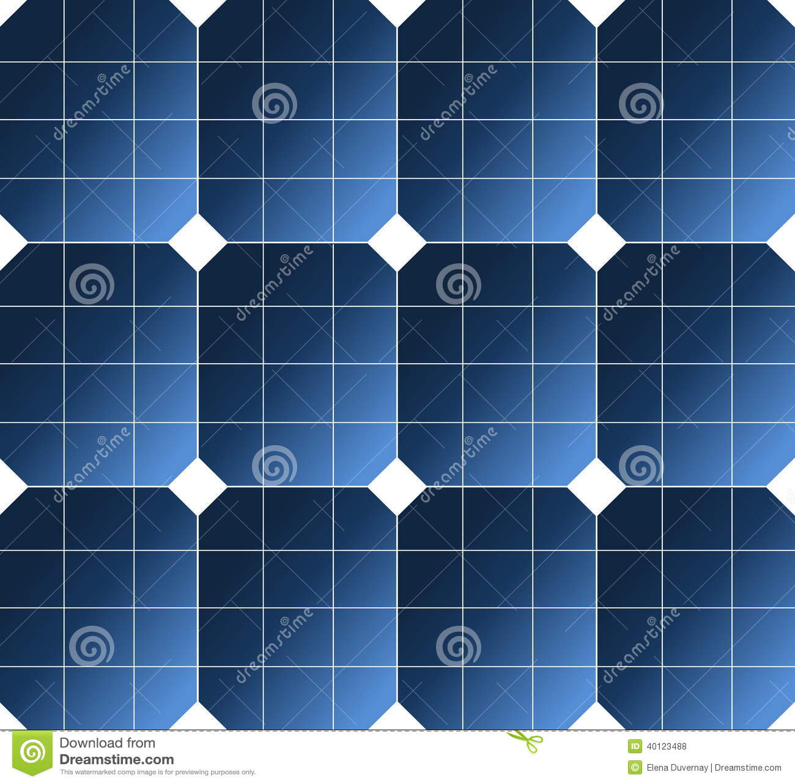 mod le de pile solaire illustration stock image 40123488. Black Bedroom Furniture Sets. Home Design Ideas