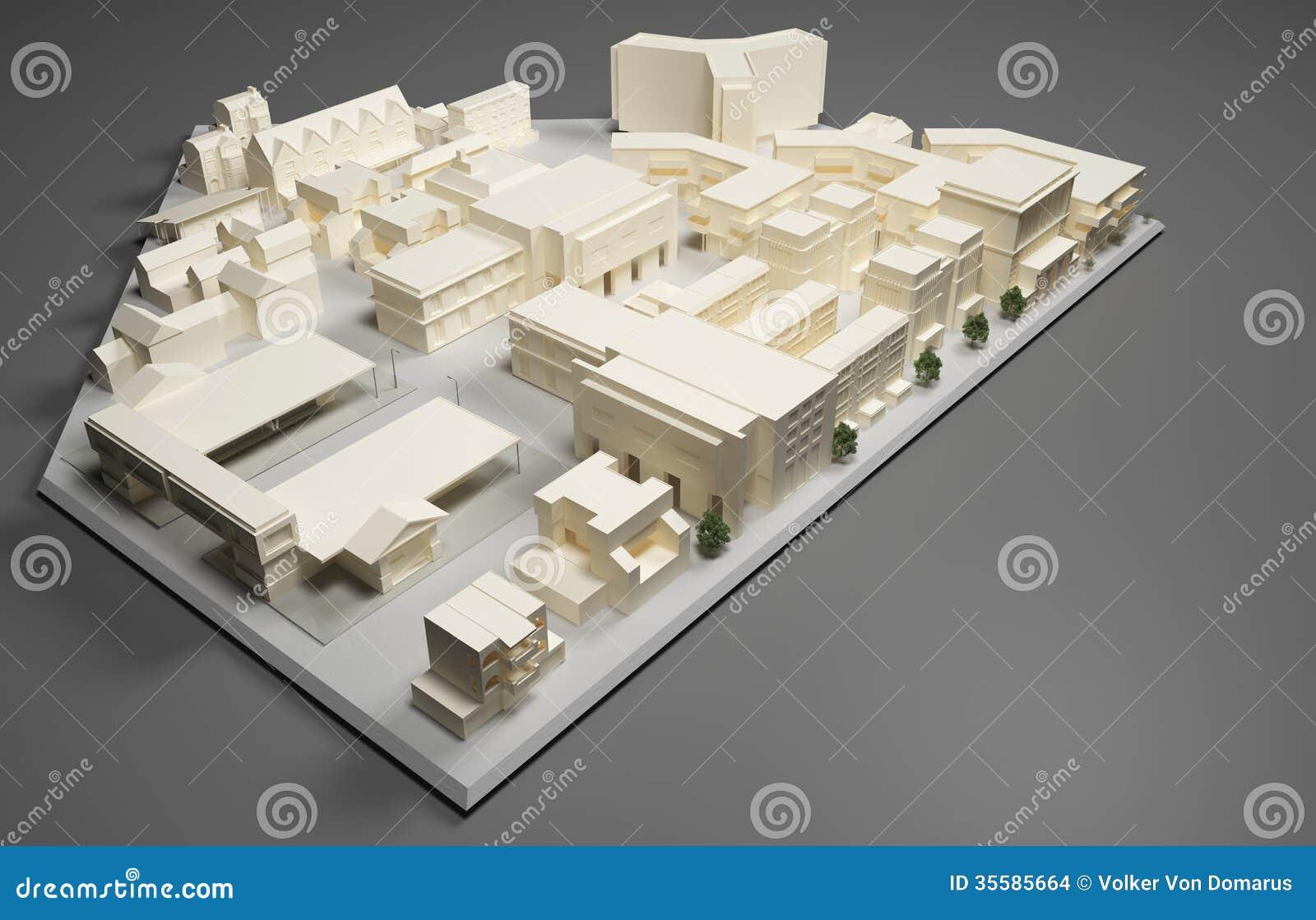 Modèle de plan d architecte