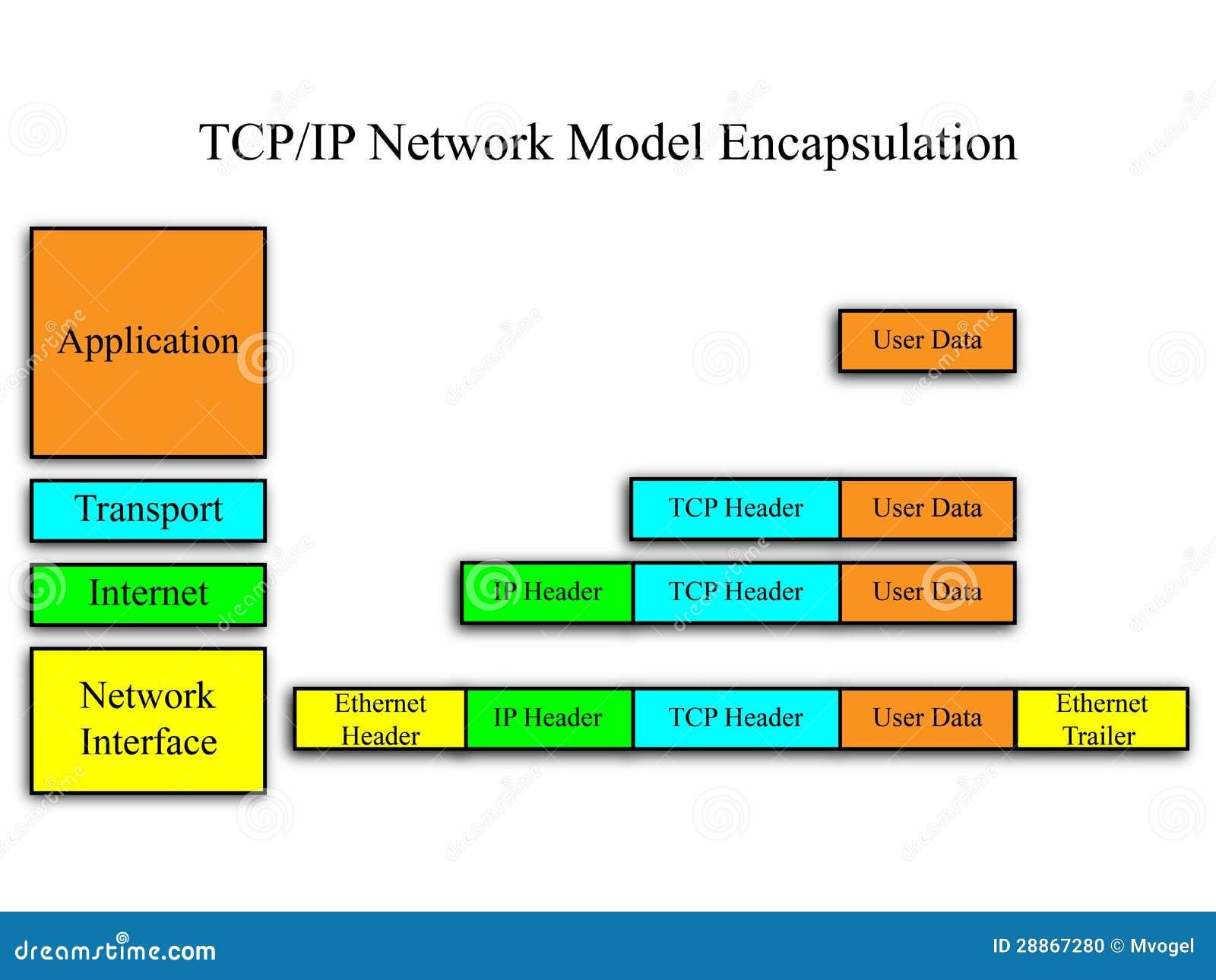 Modèle de réseau de TCP/IP