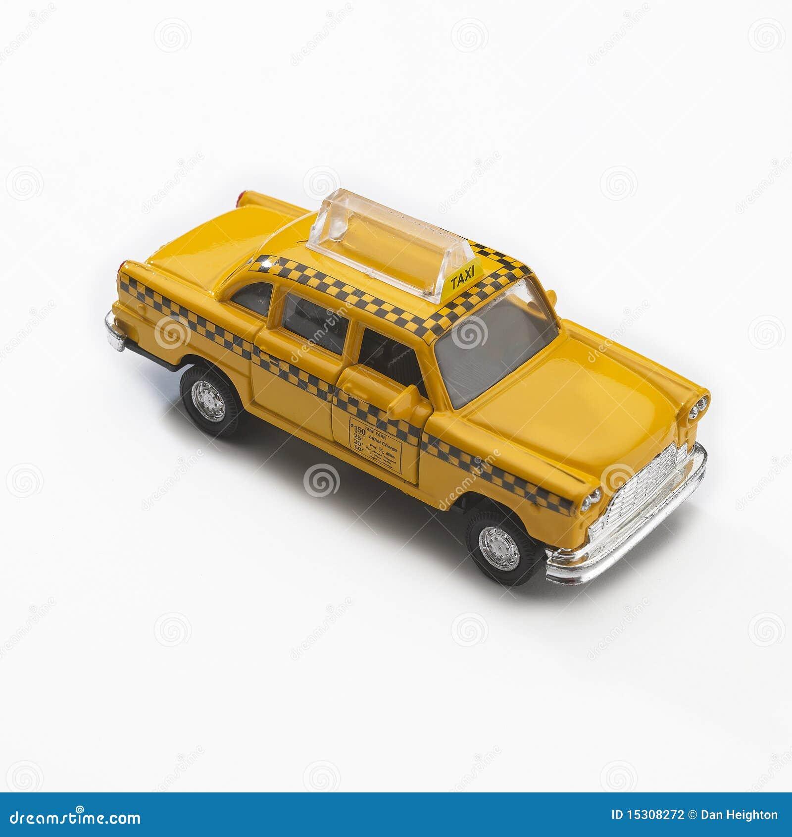 mod le de taxi de taxi jaune de new york city photographie. Black Bedroom Furniture Sets. Home Design Ideas