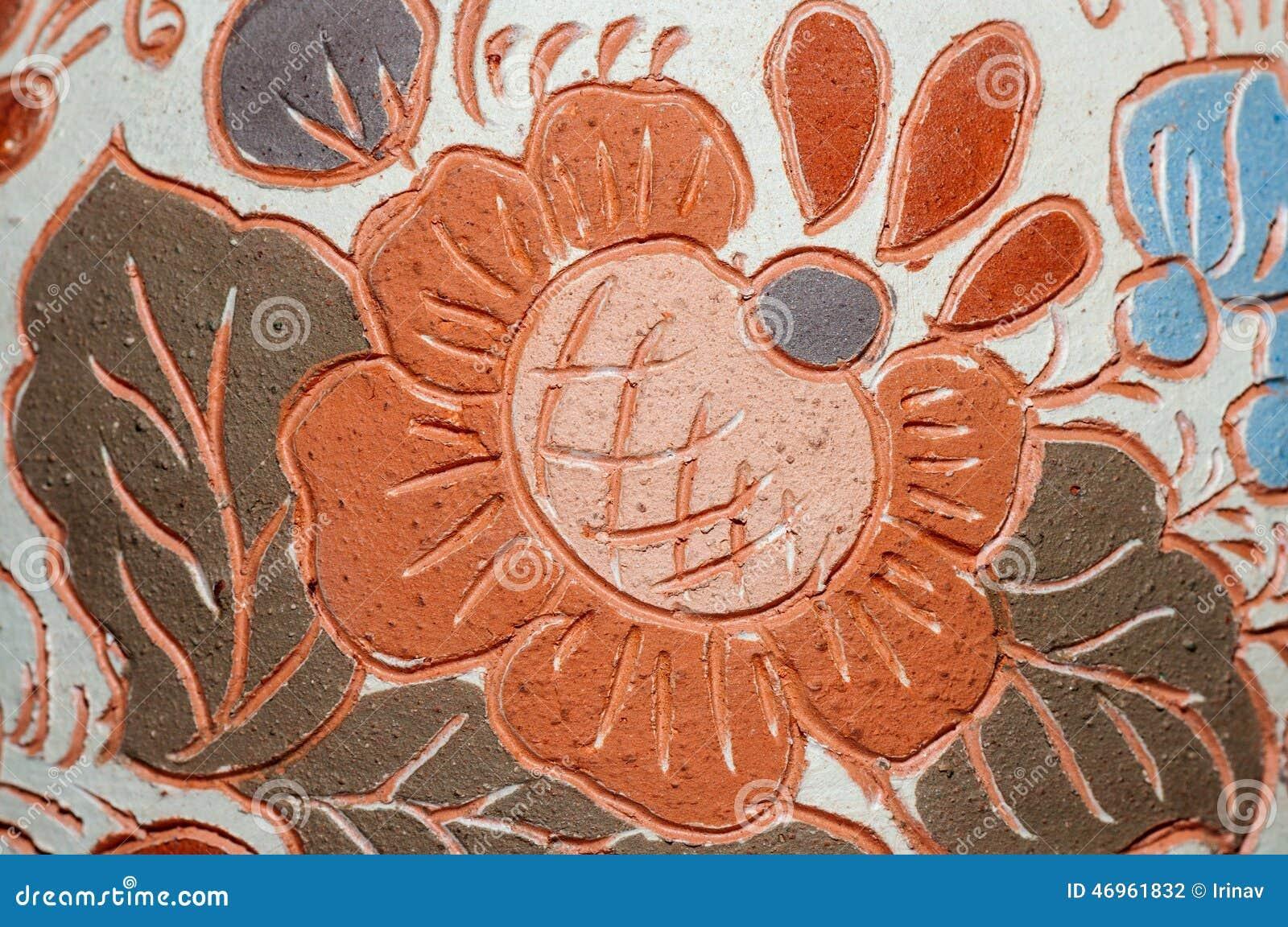Modèle de vase à poterie d argile