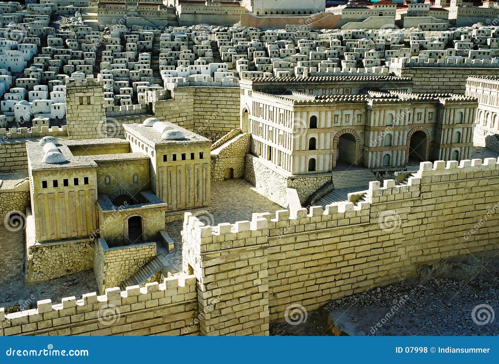Modèle de ville de Jérusalem
