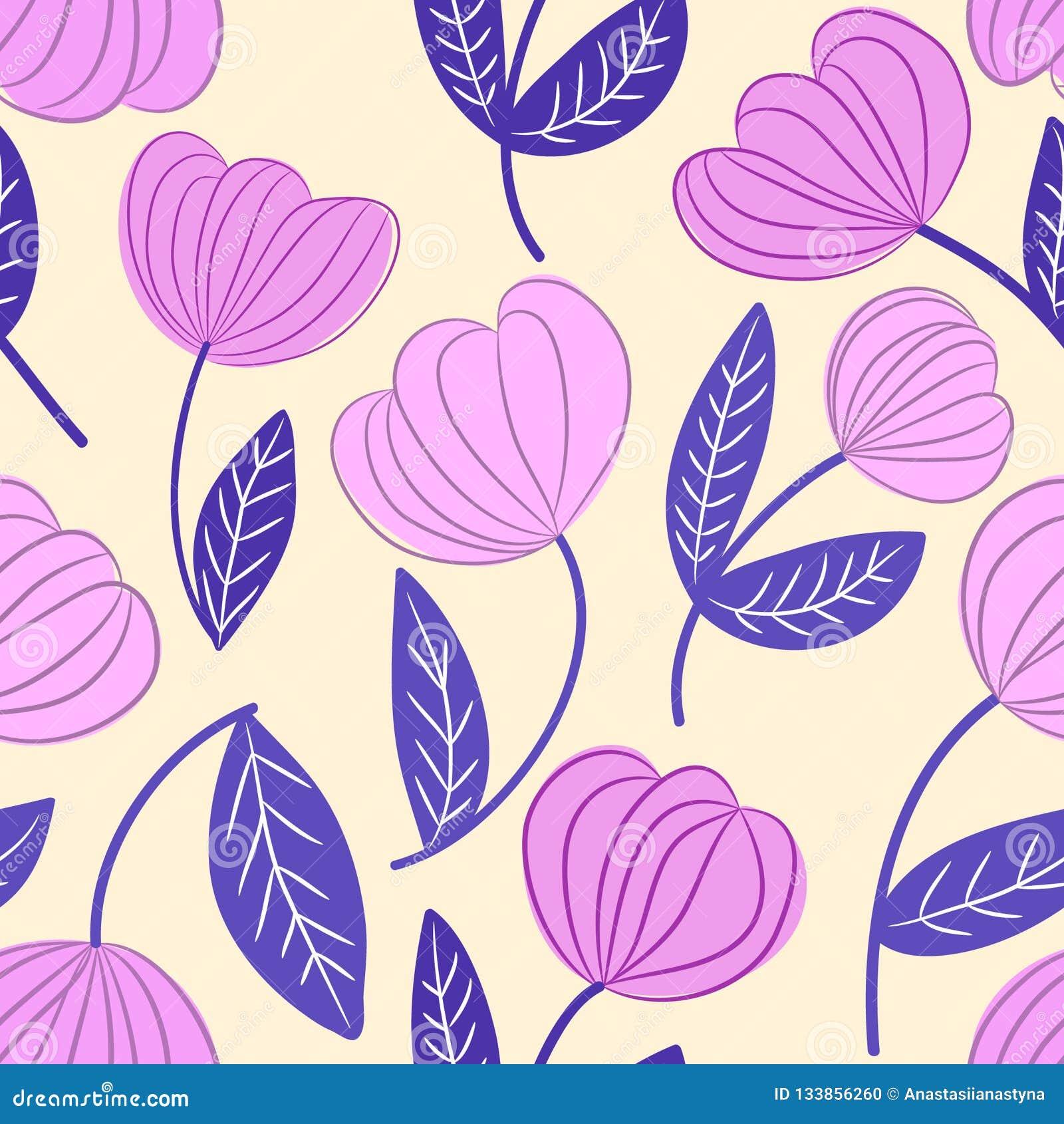 Modèle floral de rose sans couture et d ensemble décoratif bleu