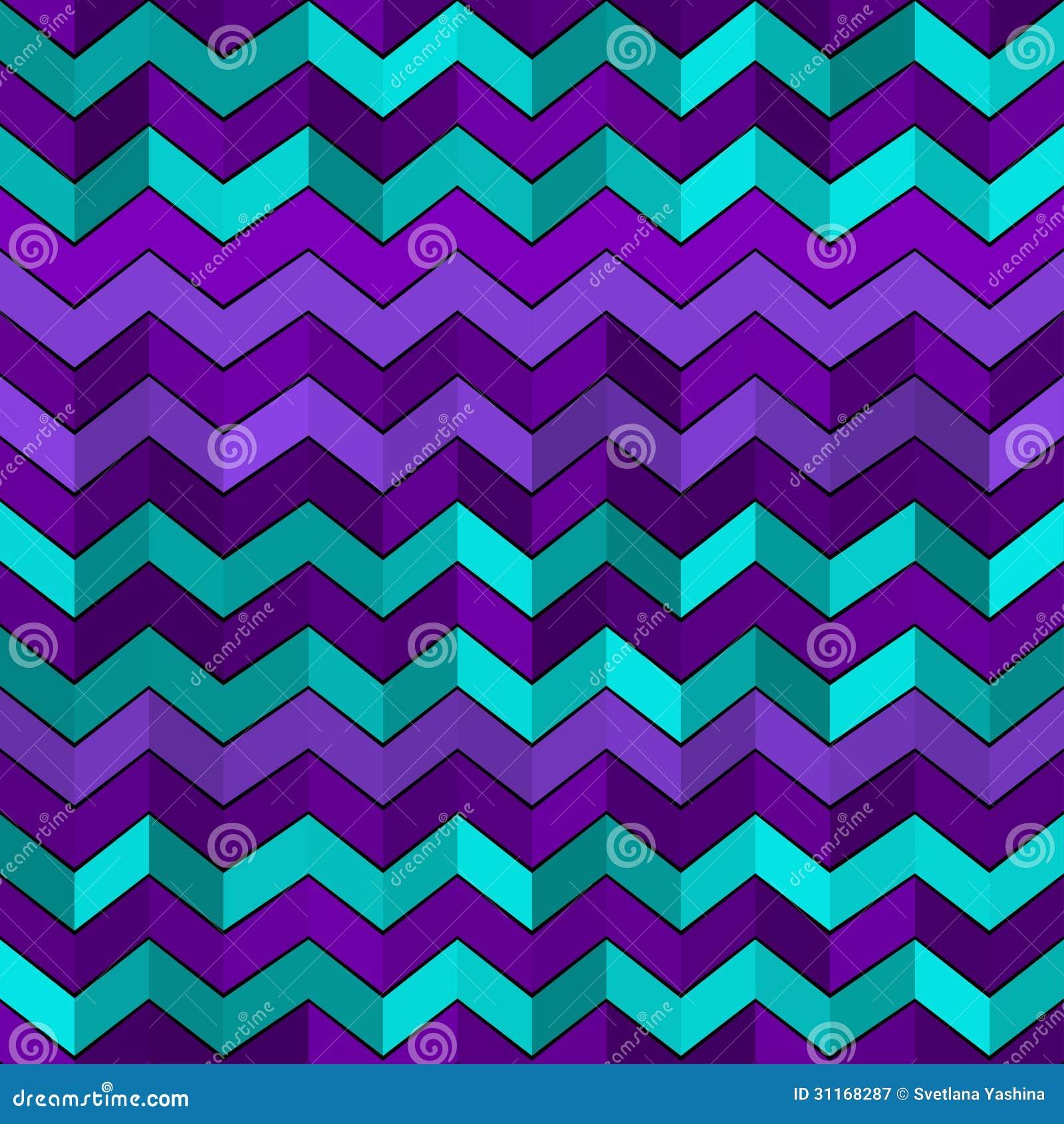 Modèle géométrique sans couture avec des zigzags