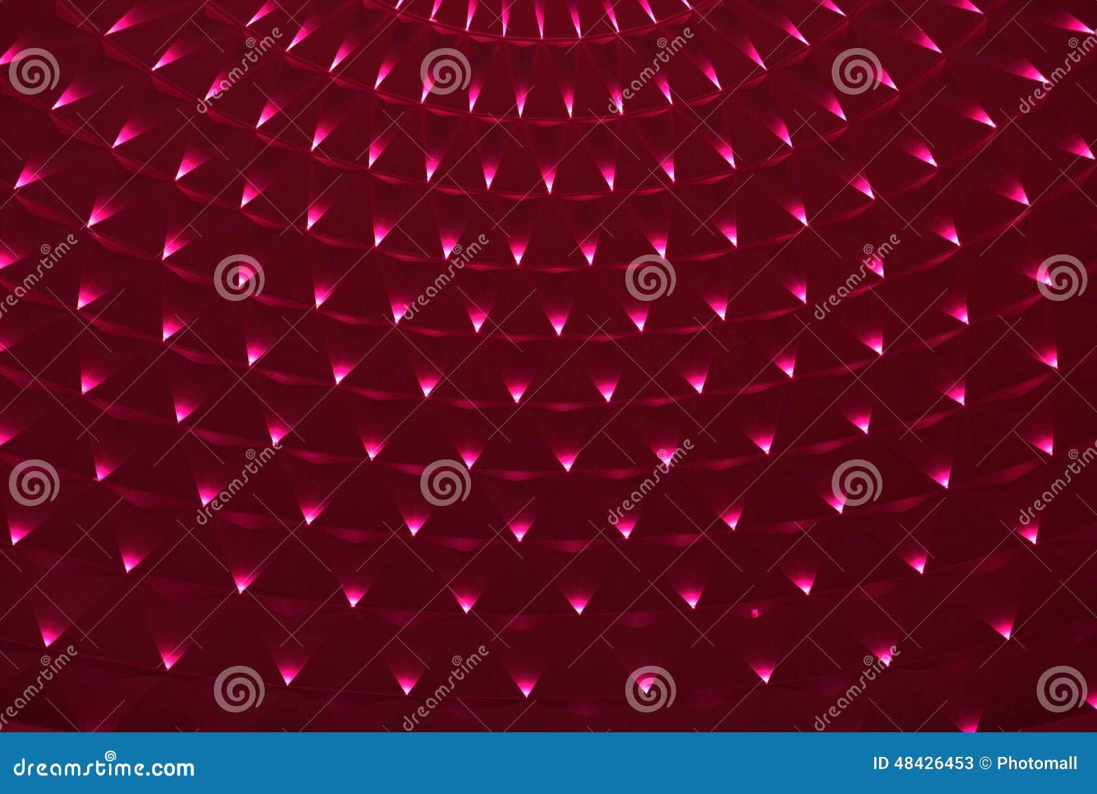 Modèle géométrique sur le dessus circulaire du bâtiment moderne