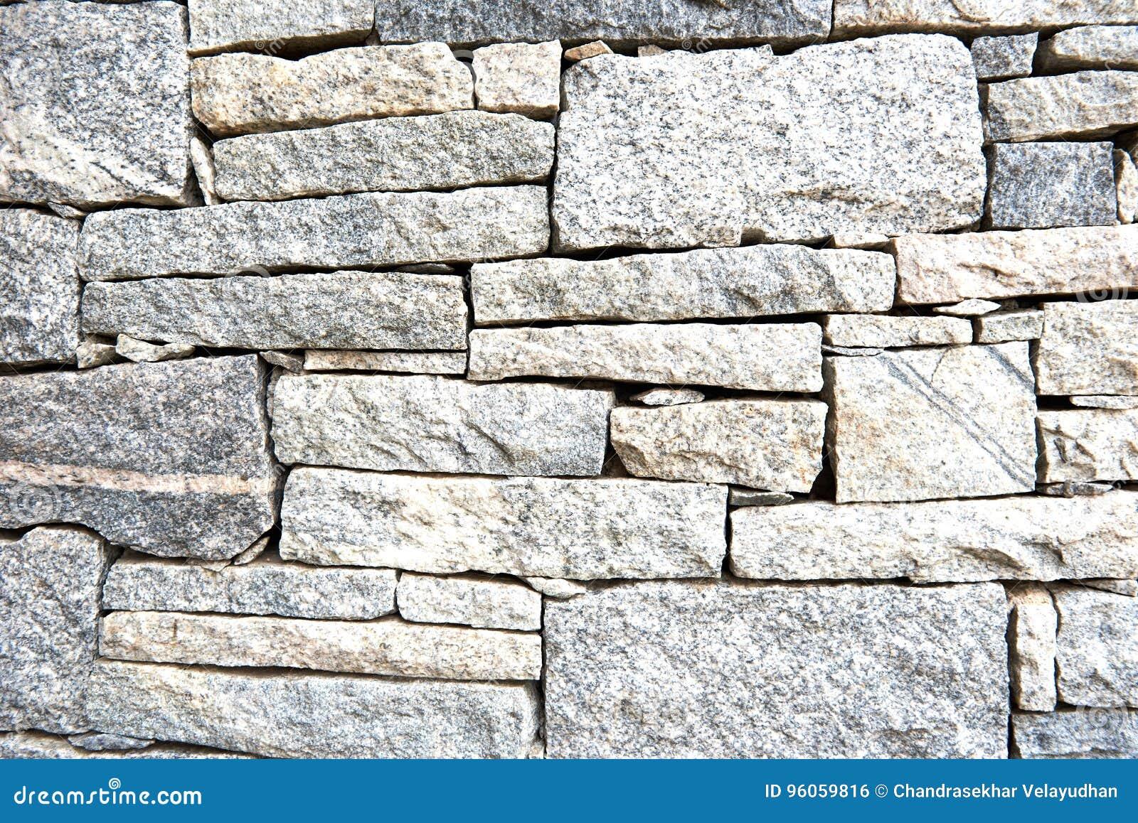Modèle géométrique texturisé d un mur en pierre de granit