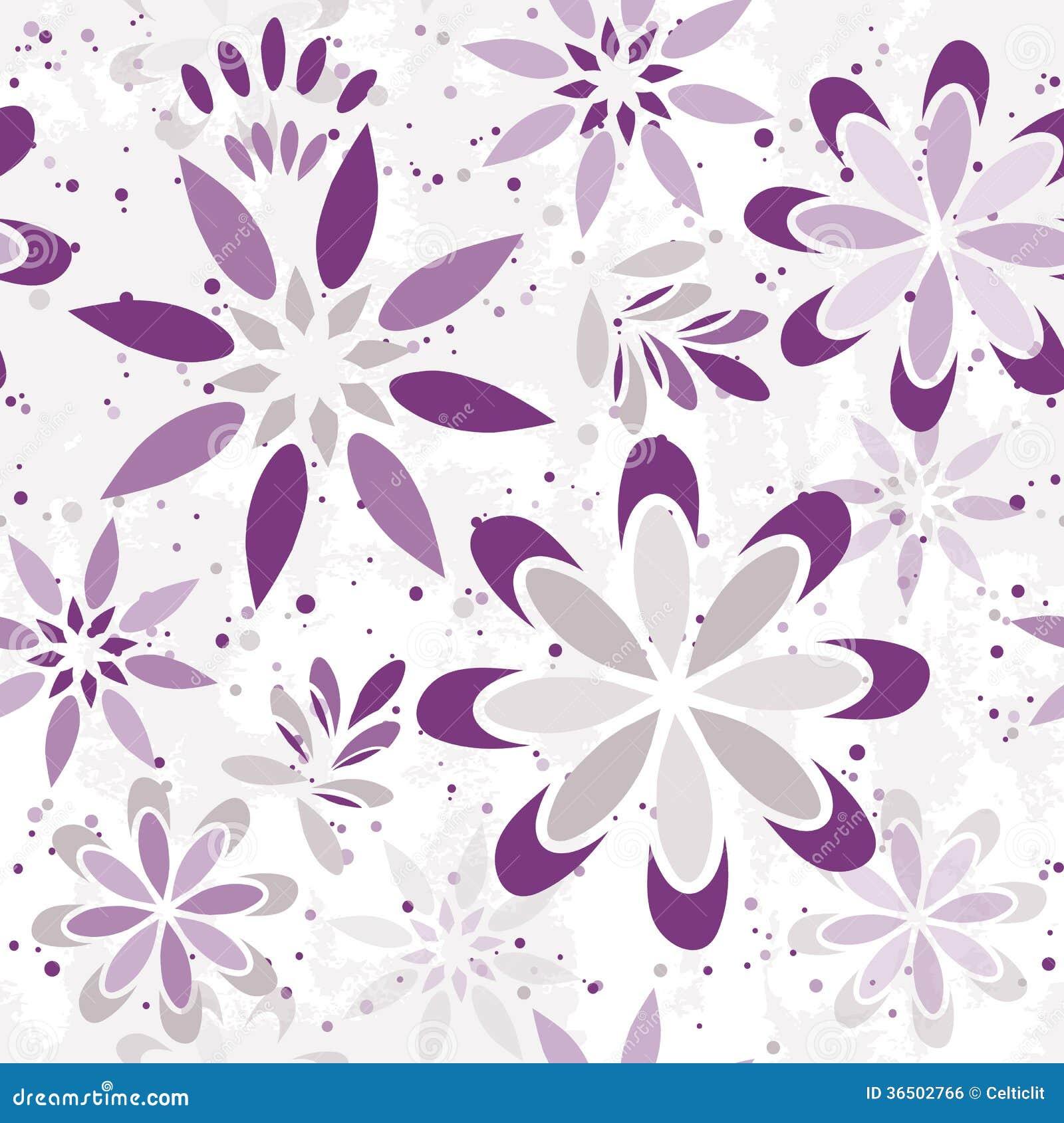 Modèle graphique floral sans couture