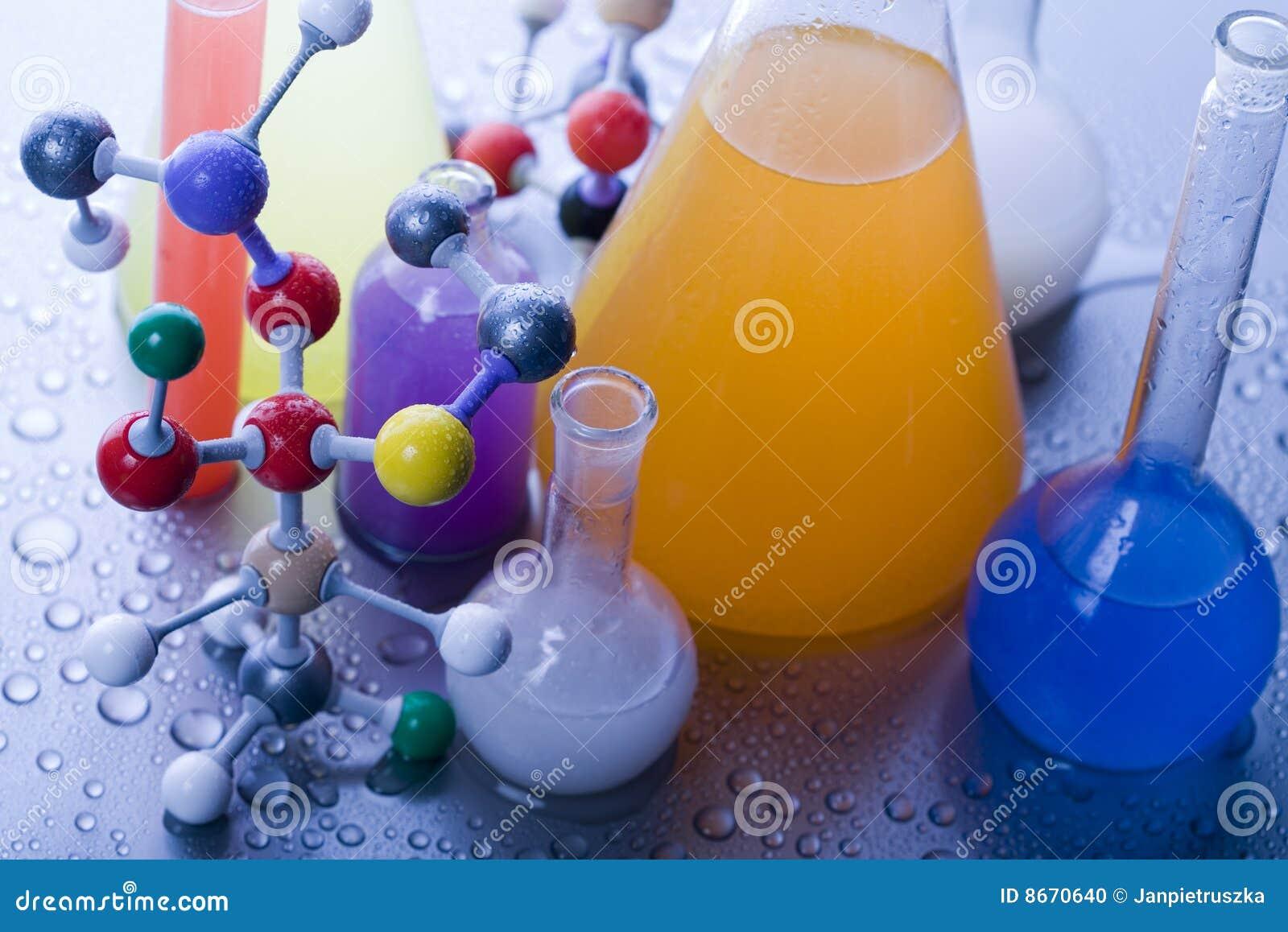 Modèle moléculaire - laboratoire