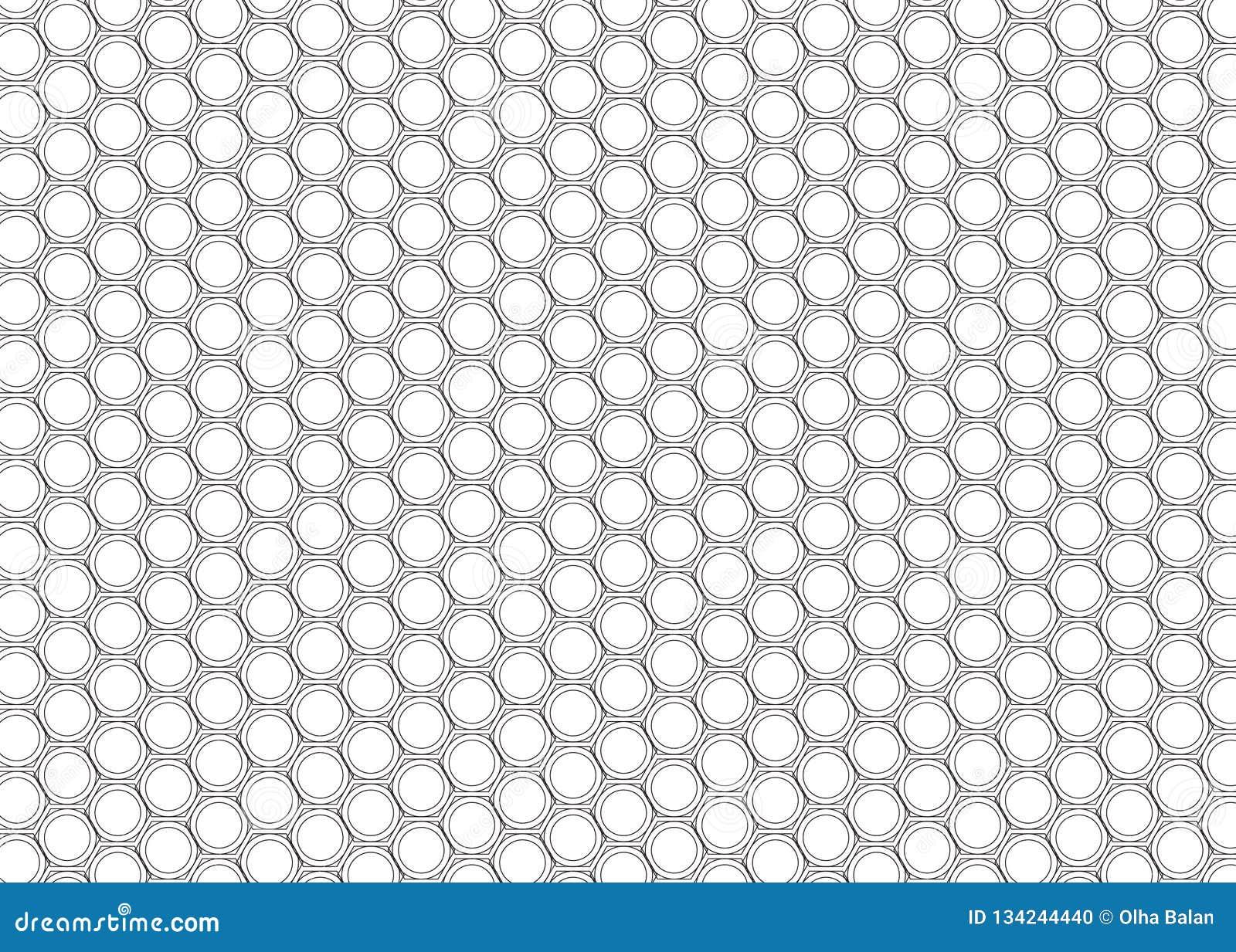Modèle monochrome de tuile de sortilège