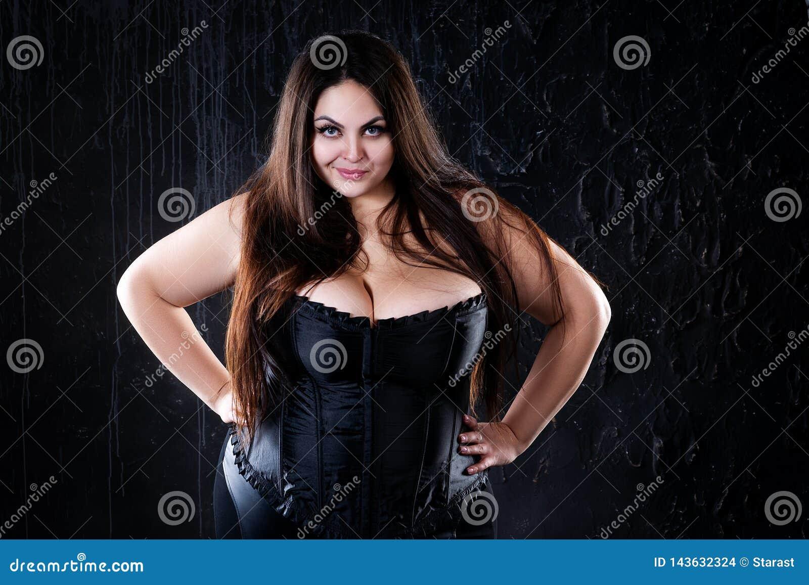 femme noir grosse